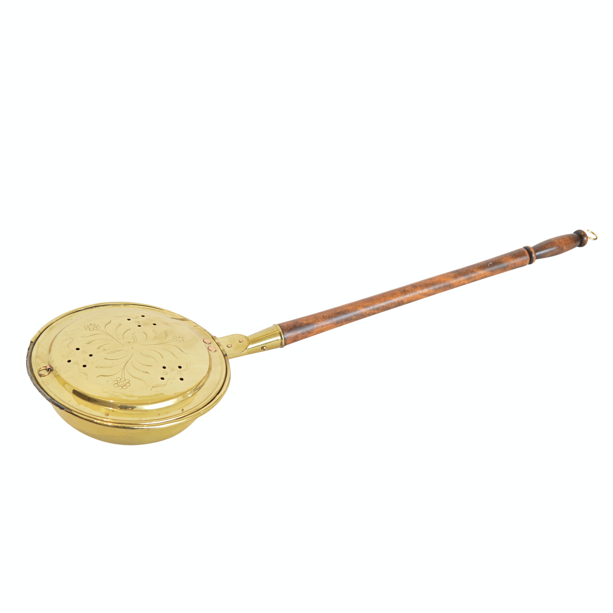 Antique Brass Warming Pan