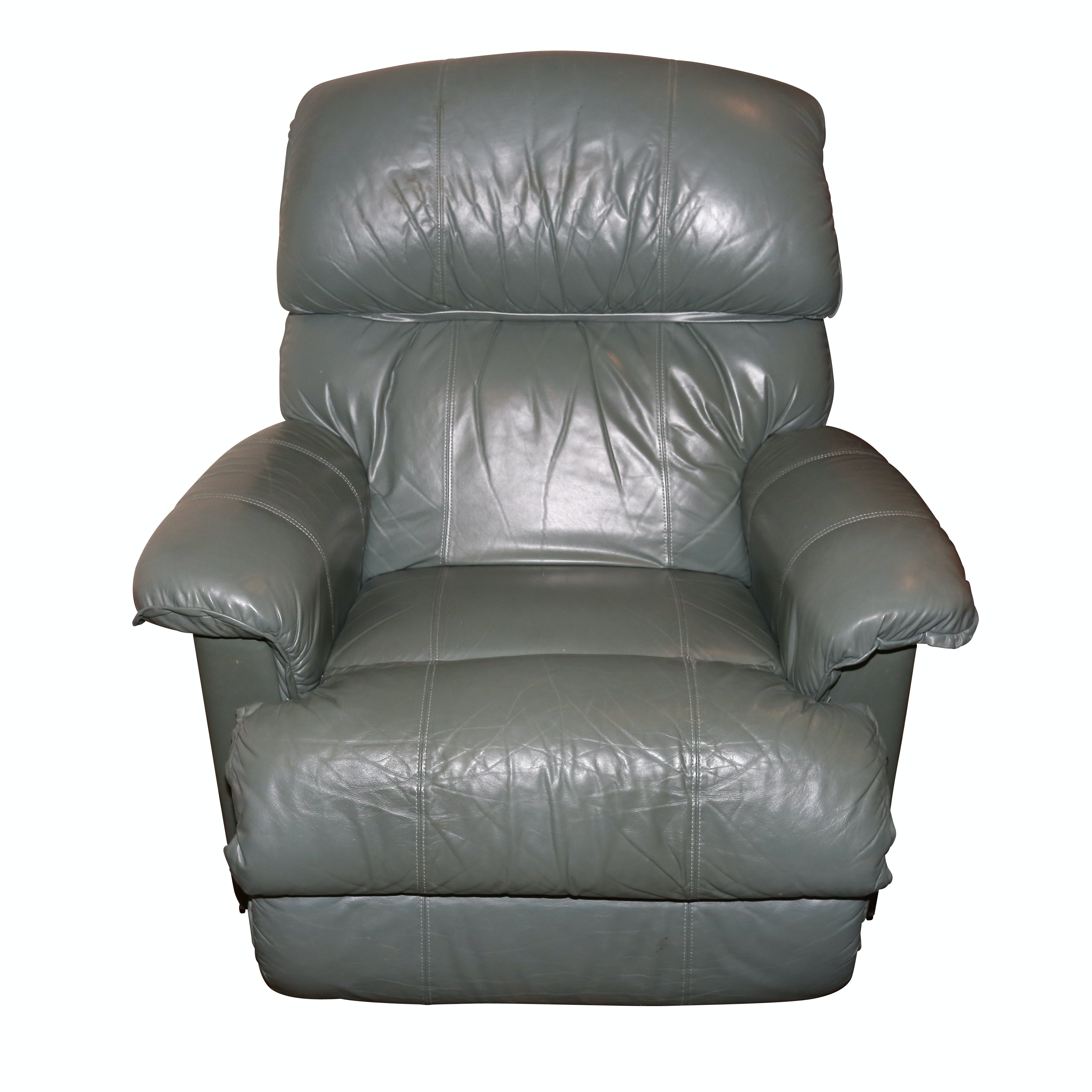 Leather Upholstered La-Z-Boy Manual Recliner, Late 20th Century