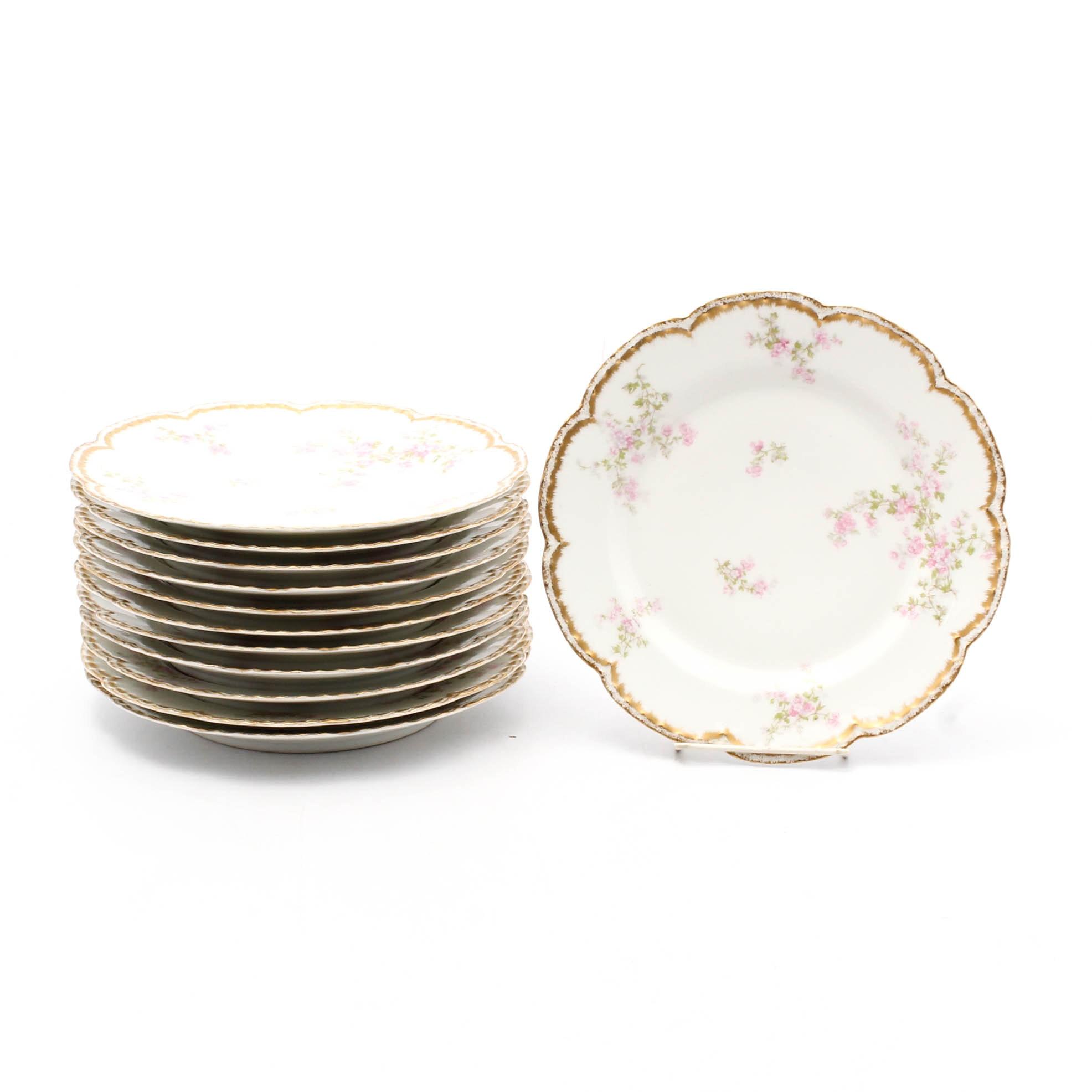 Haviland Limoges Dinner Plates