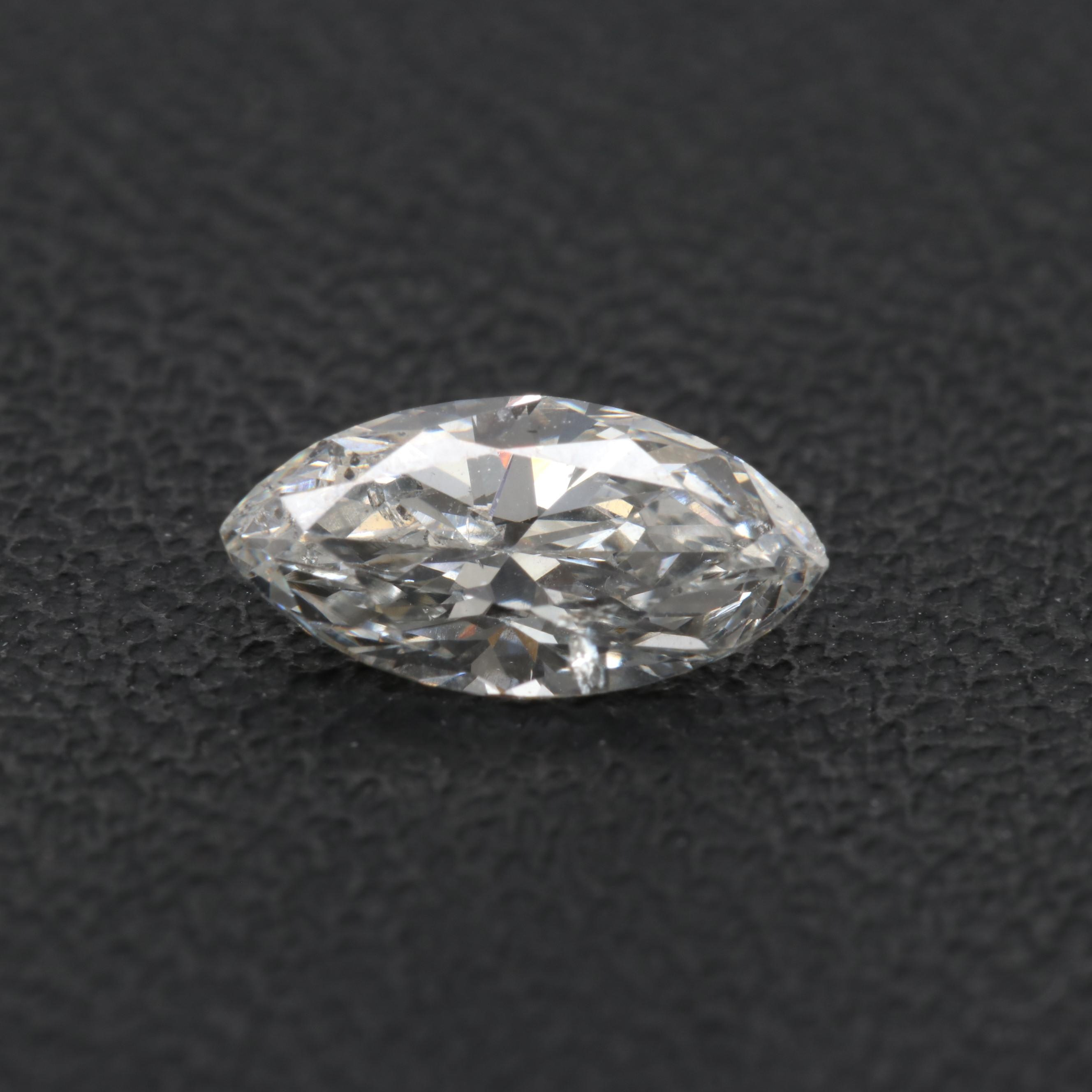 Loose Marquise Cut Diamond