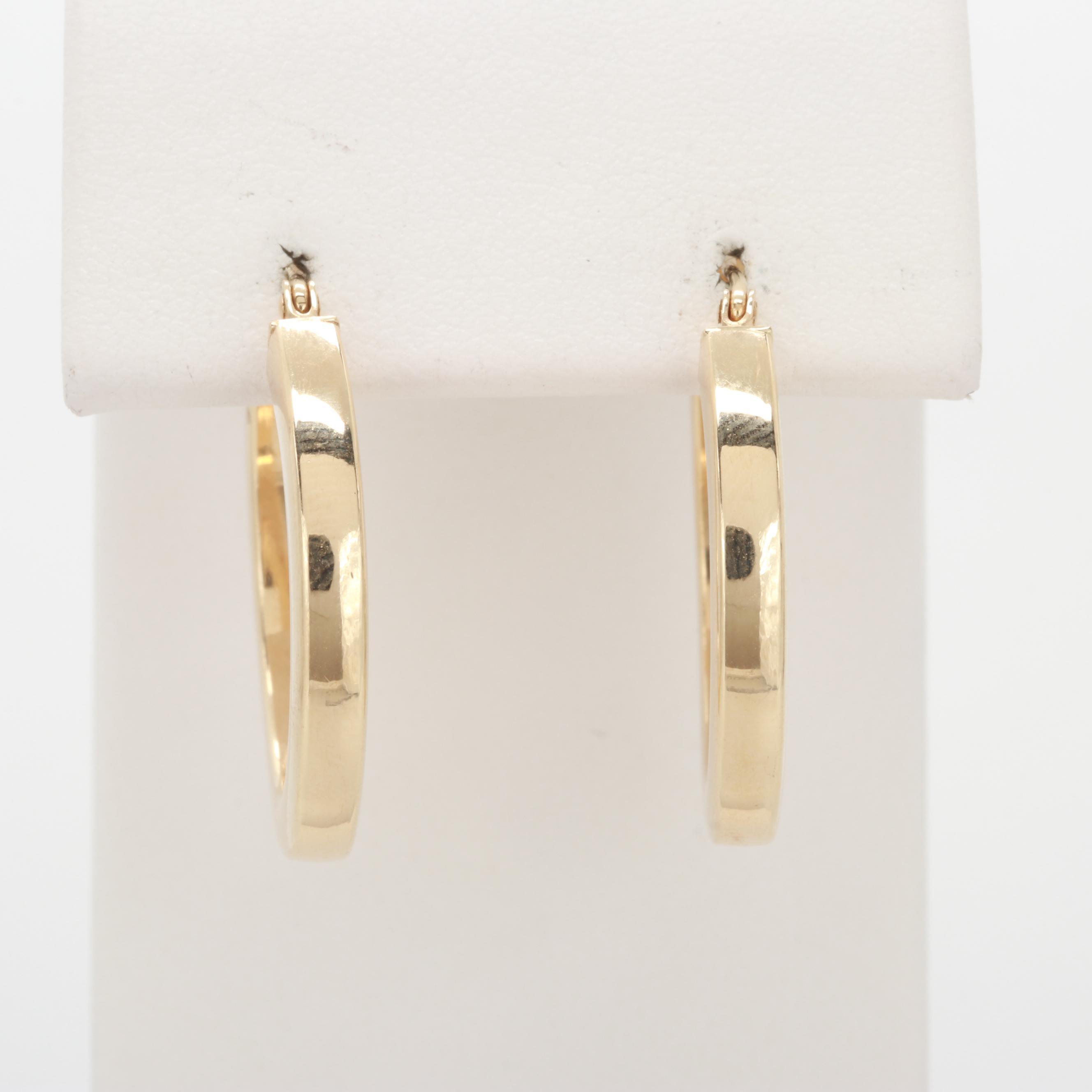 14K Yellow Gold Earrings