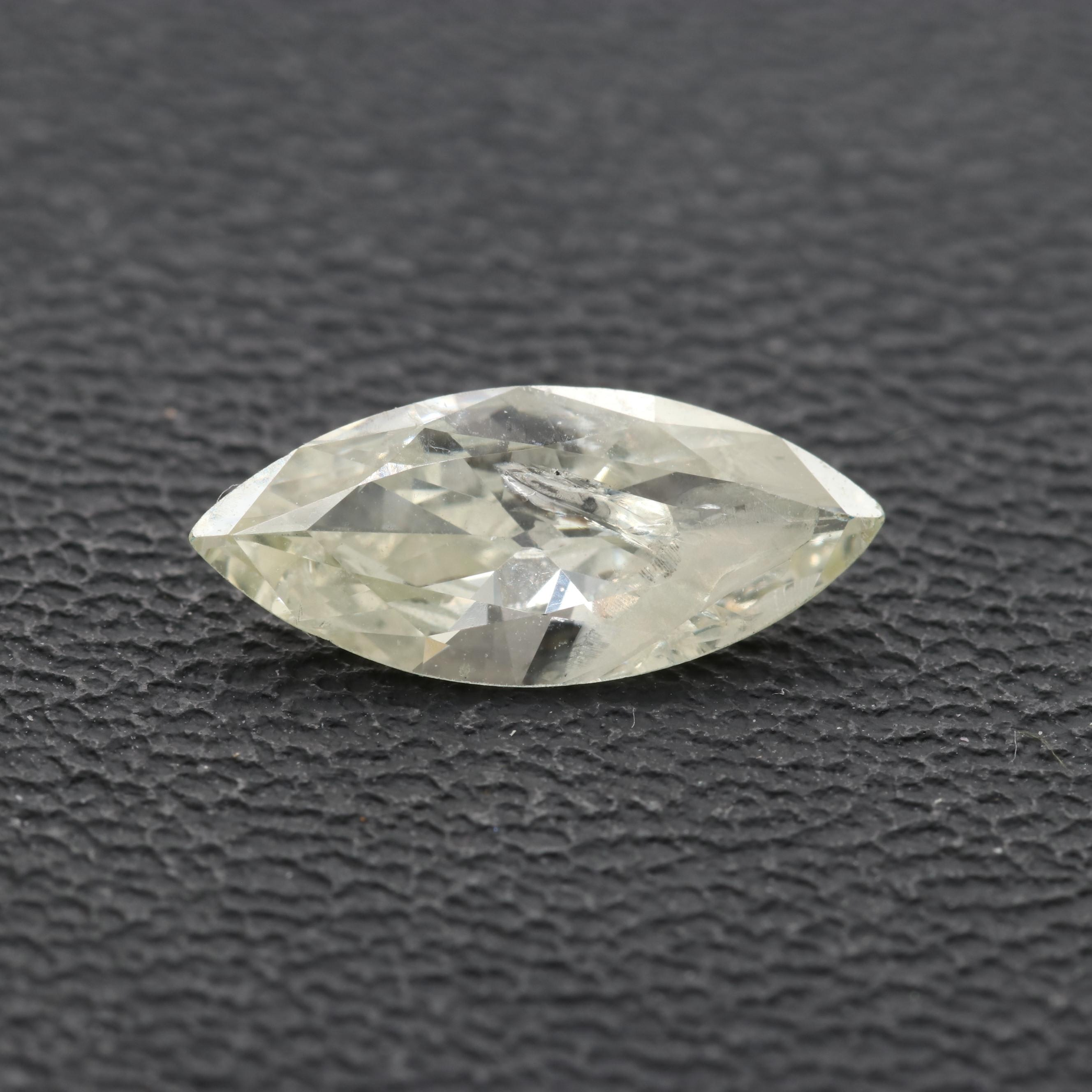 Loose 1.15 CT Marquise Faceted Diamond