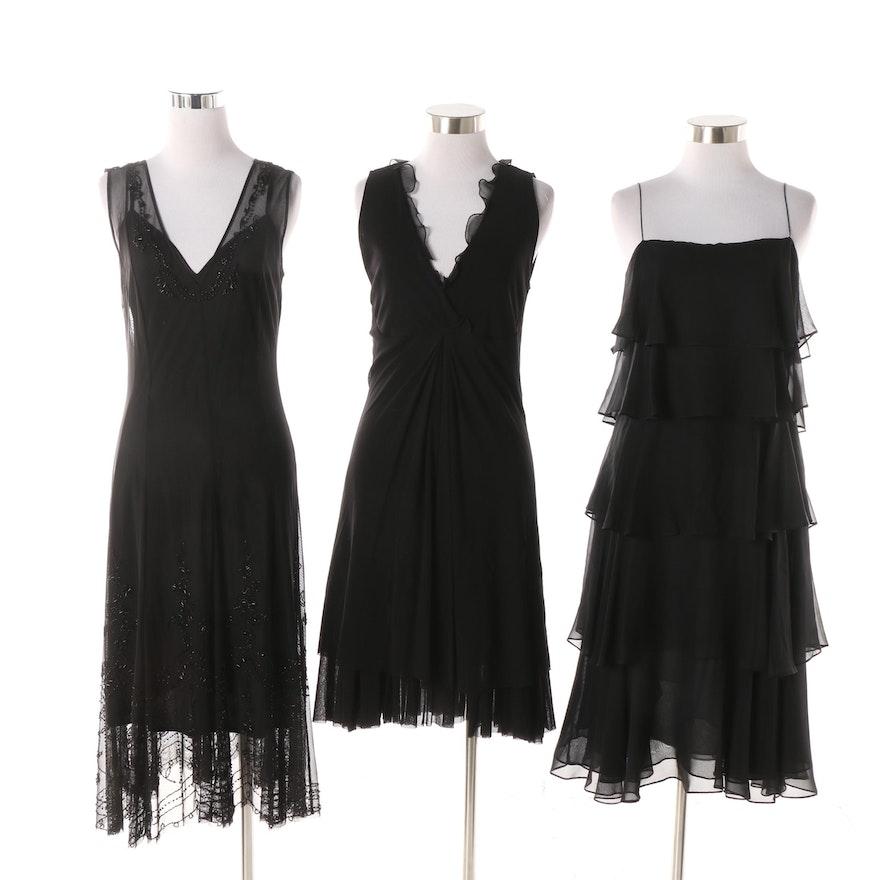 3ae8db3c58 Women s Black Sleeveless Dresses including Saks Fifth Avenue   EBTH
