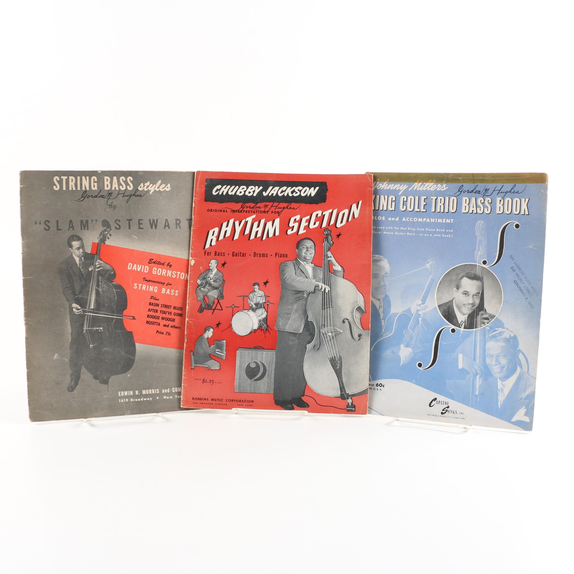 Gordon N. Hughes Autographed Music Books, 1946 and 1947