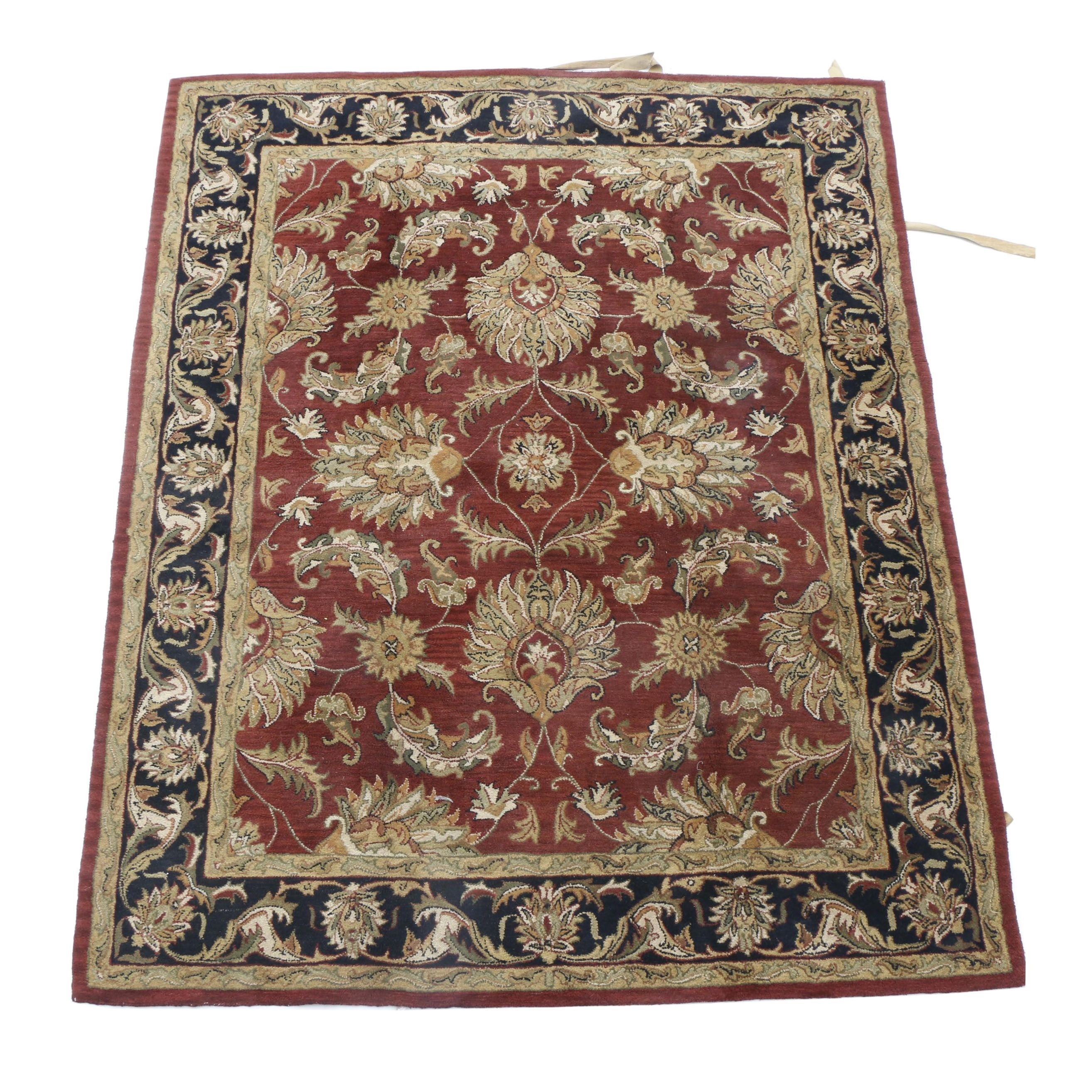 Tufted Indian Agra Style Area Rug