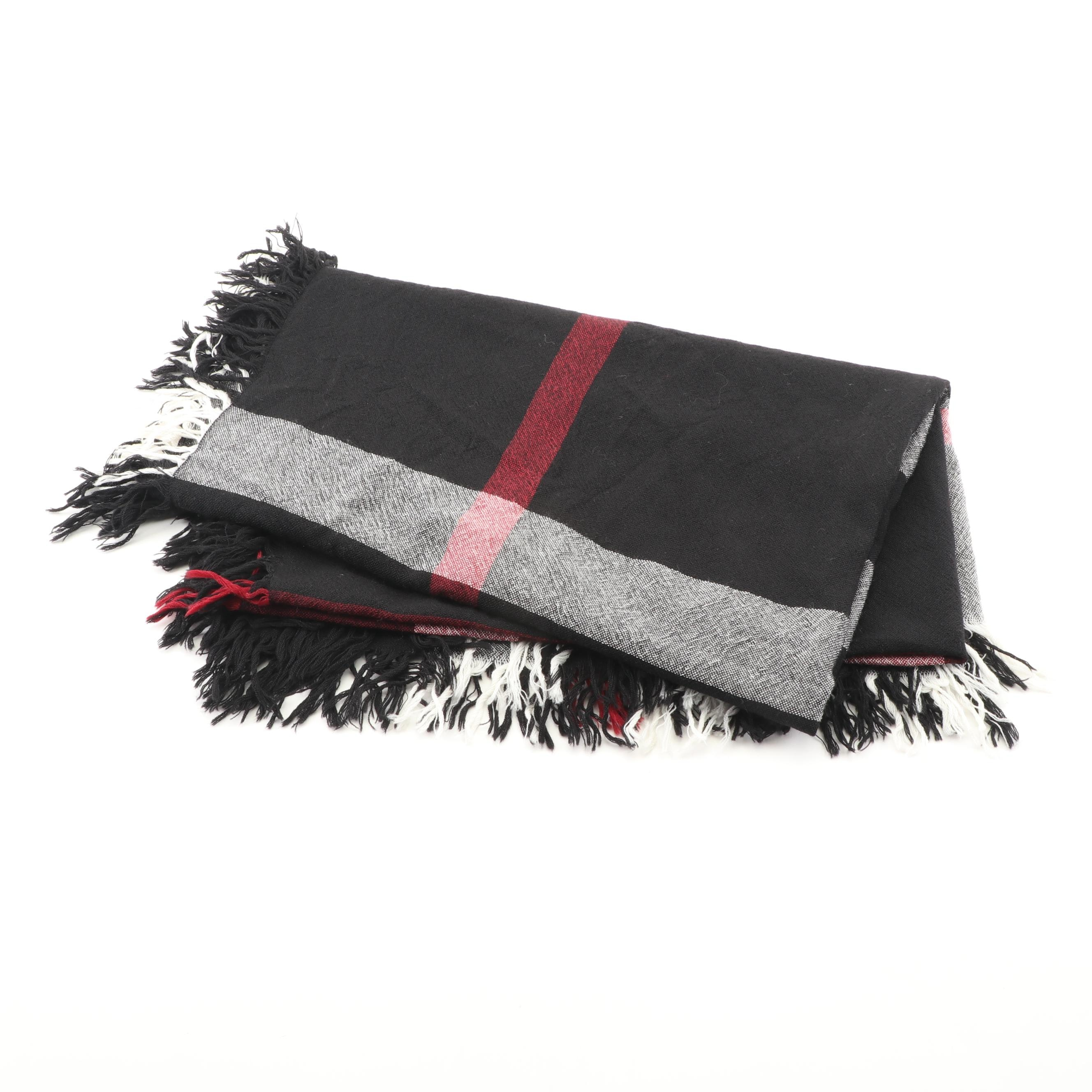 "Burberry ""Relaxed Mega Check"" Scarf"