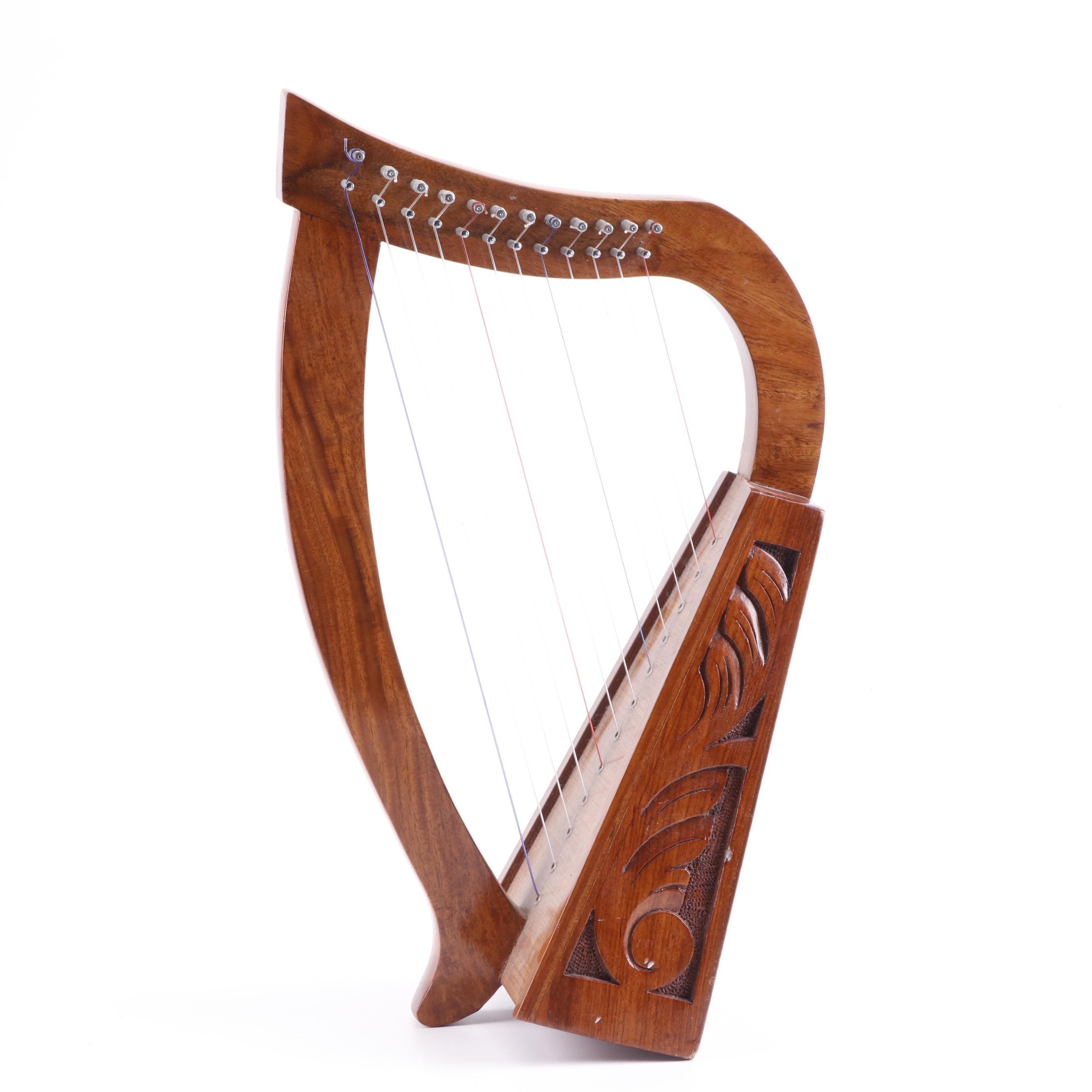 Mid-East 12-String Miniature Harp