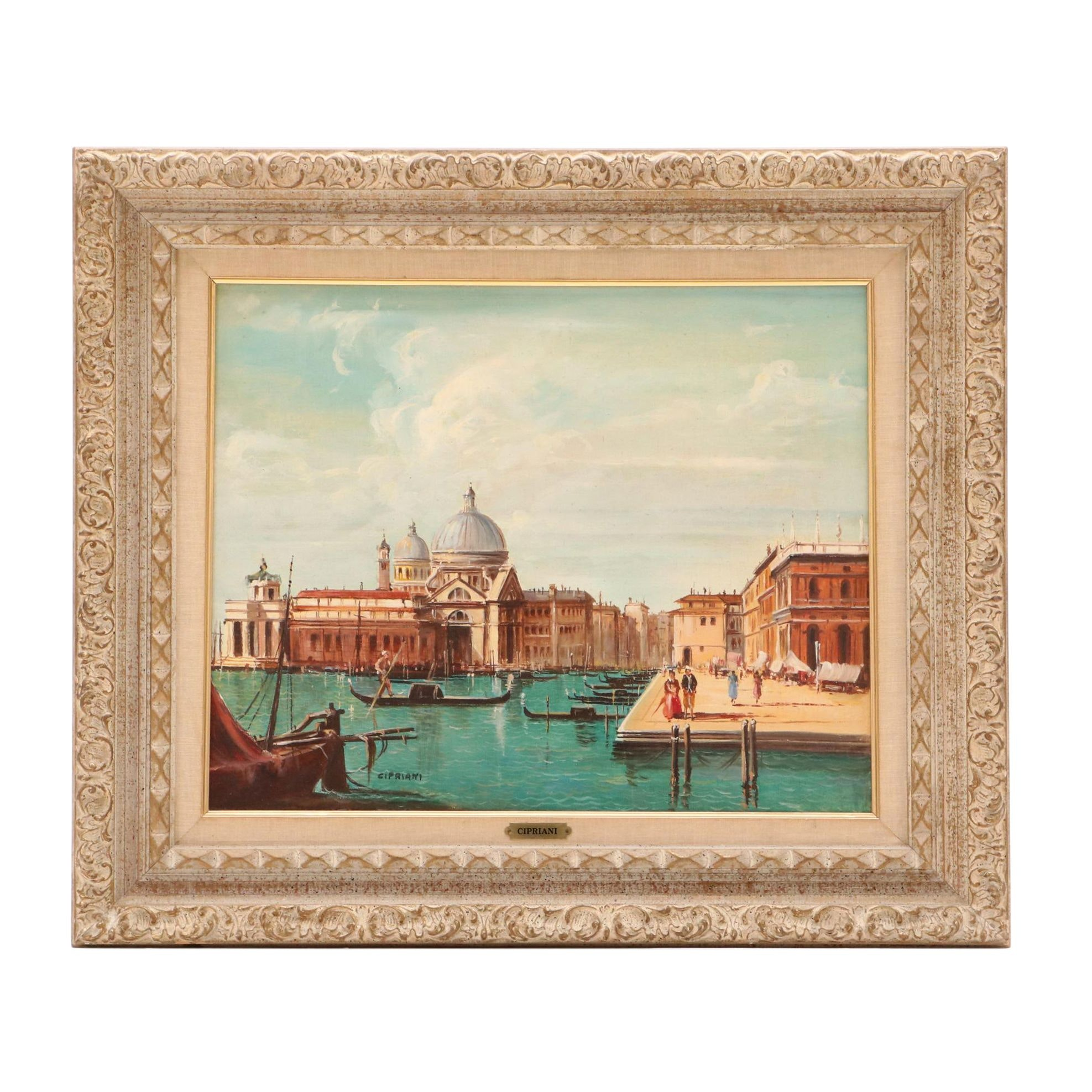Cipriani Oil Painting of Venice, Italy