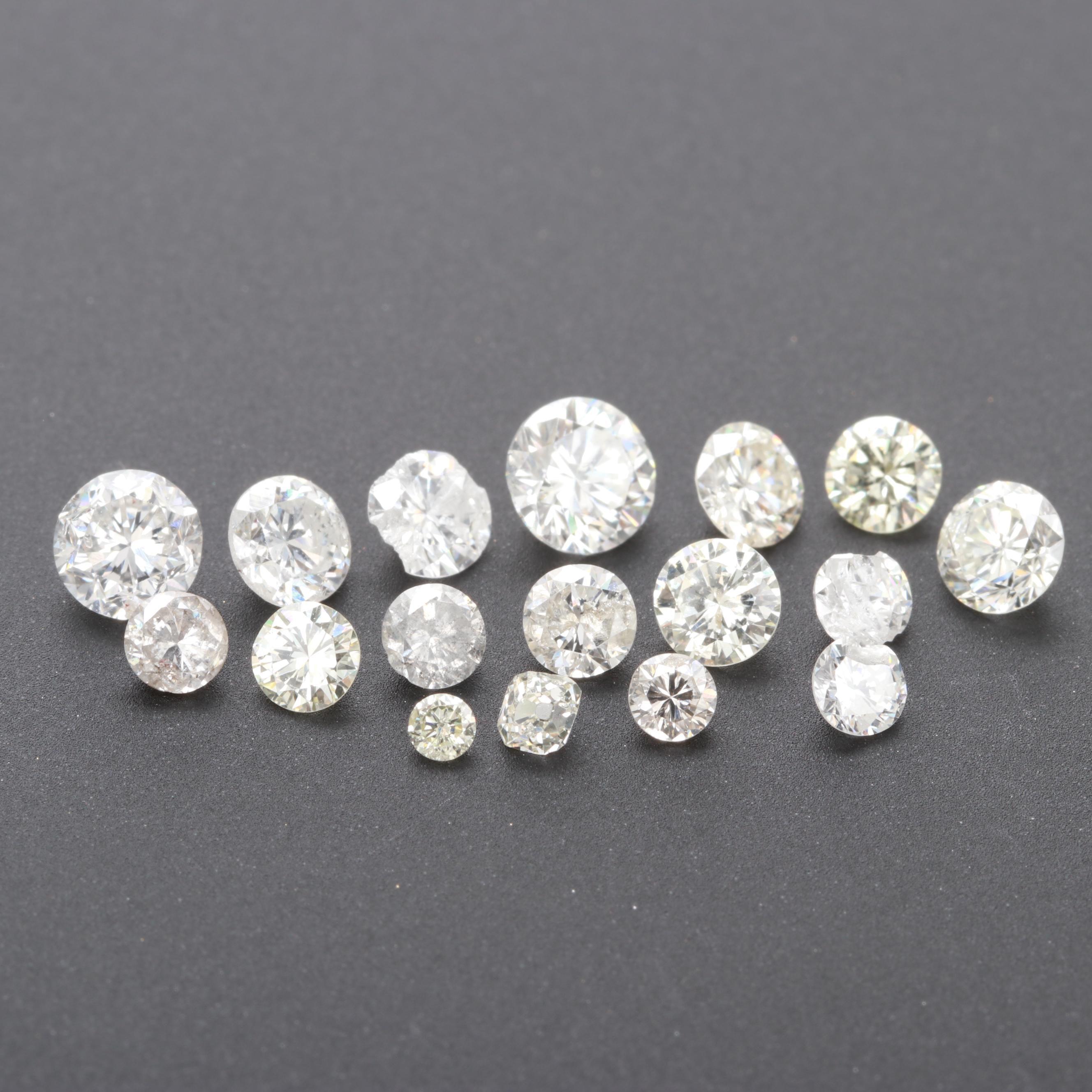 Loose 3.27 CTW Diamond Assortment