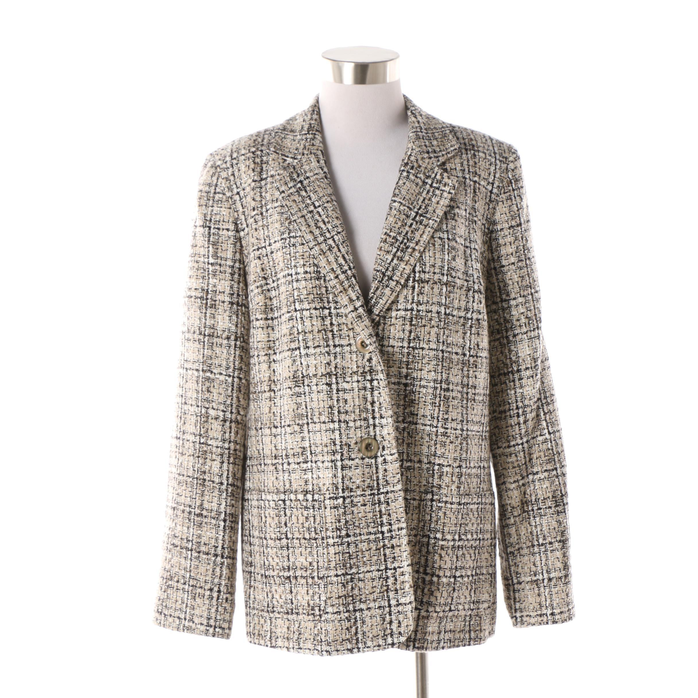 Women's Appleseed's Tweed Blazer