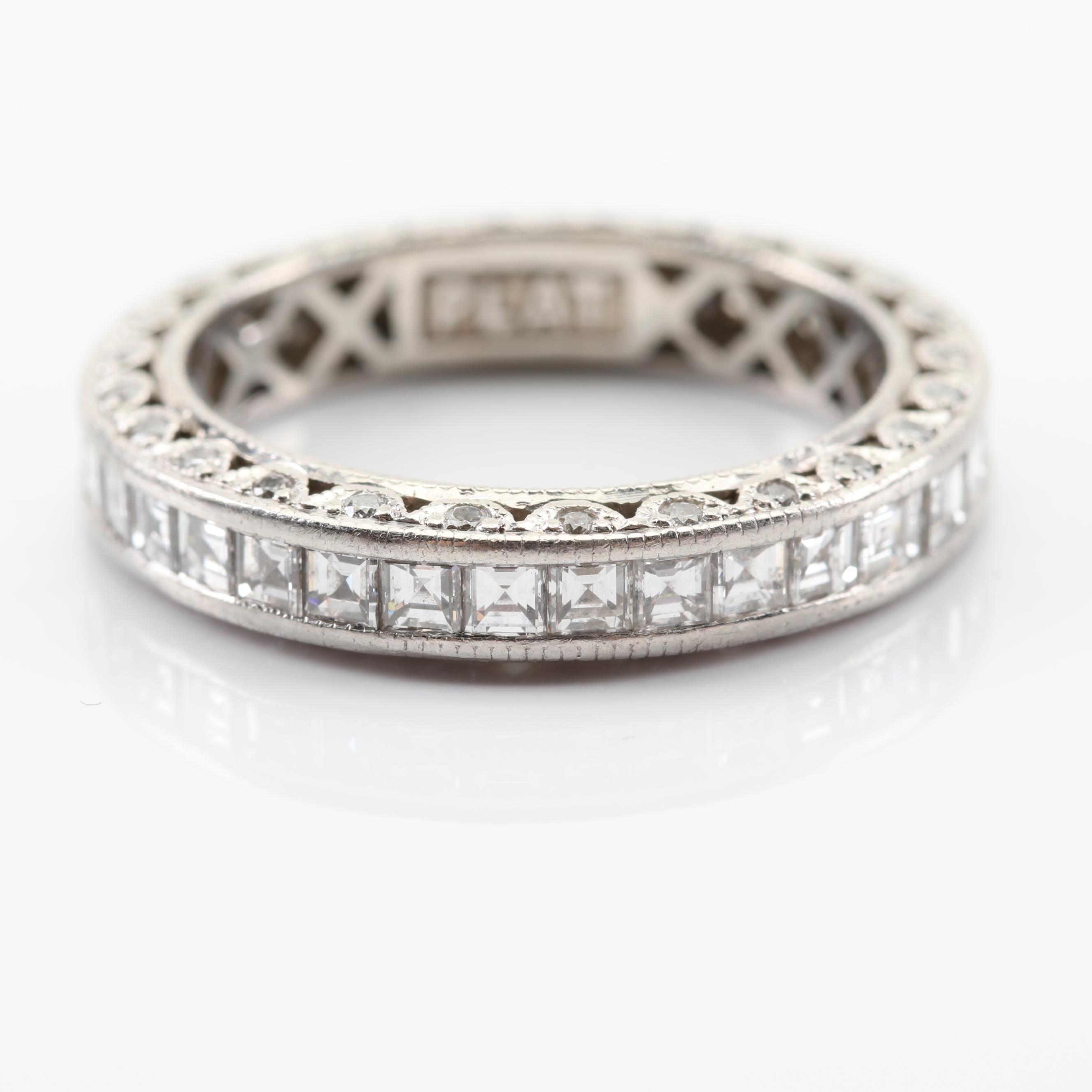 Tacori Platinum 1.75 CTW Diamond Eternity Ring
