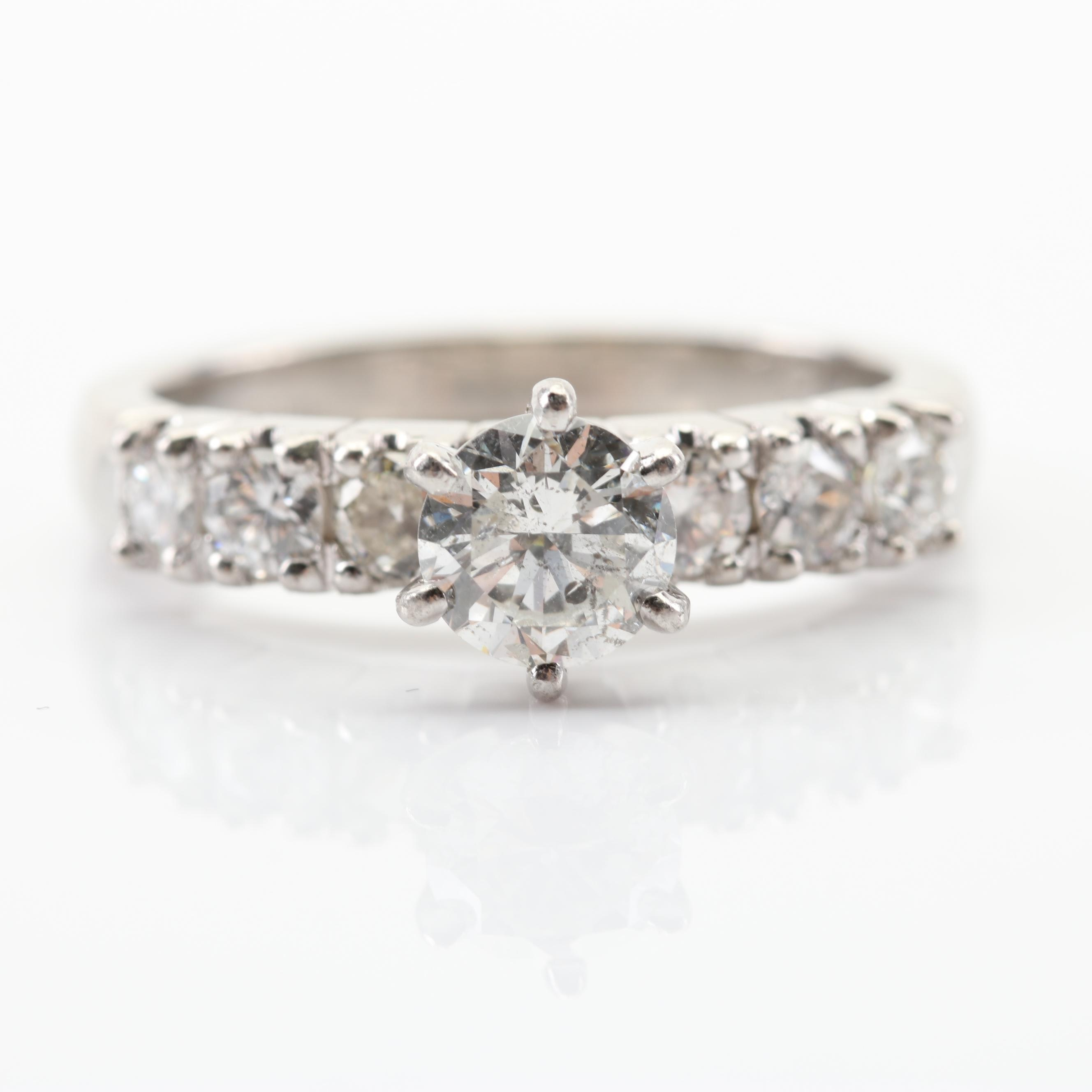 Valentin Magro Platinum Diamond Ring