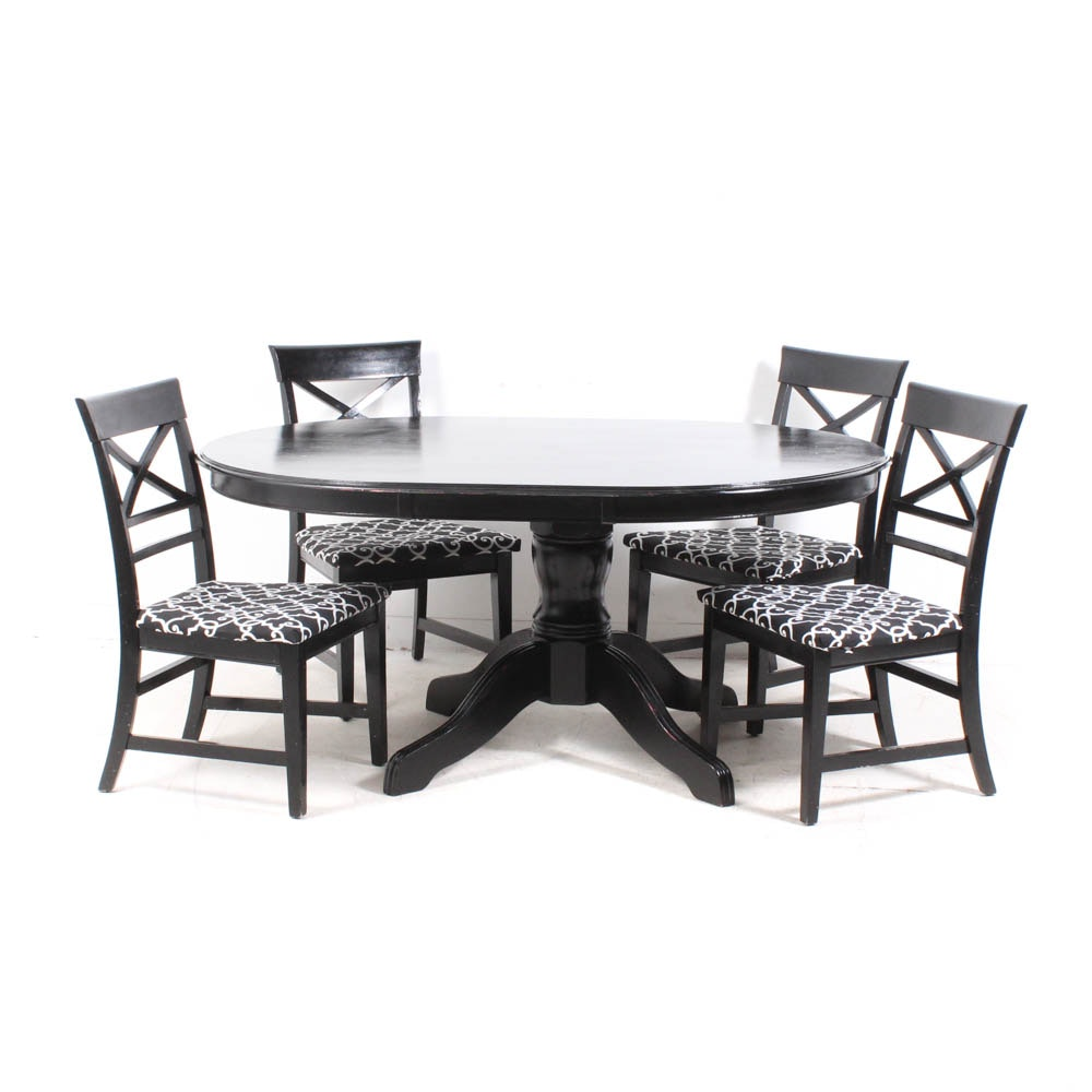 Pier 1 Imports Dining Table With Matching Chairs