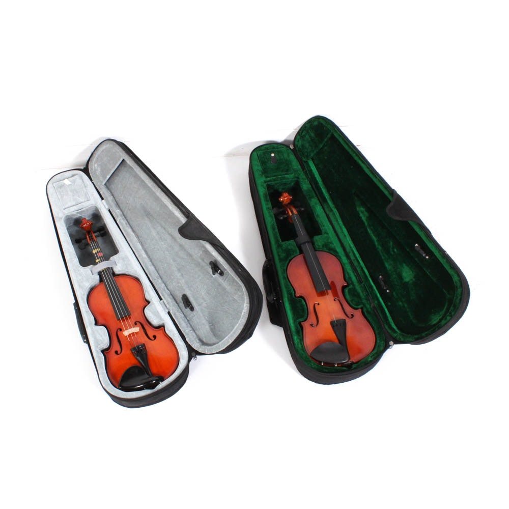 1/2 Size Violins Featuring Melody