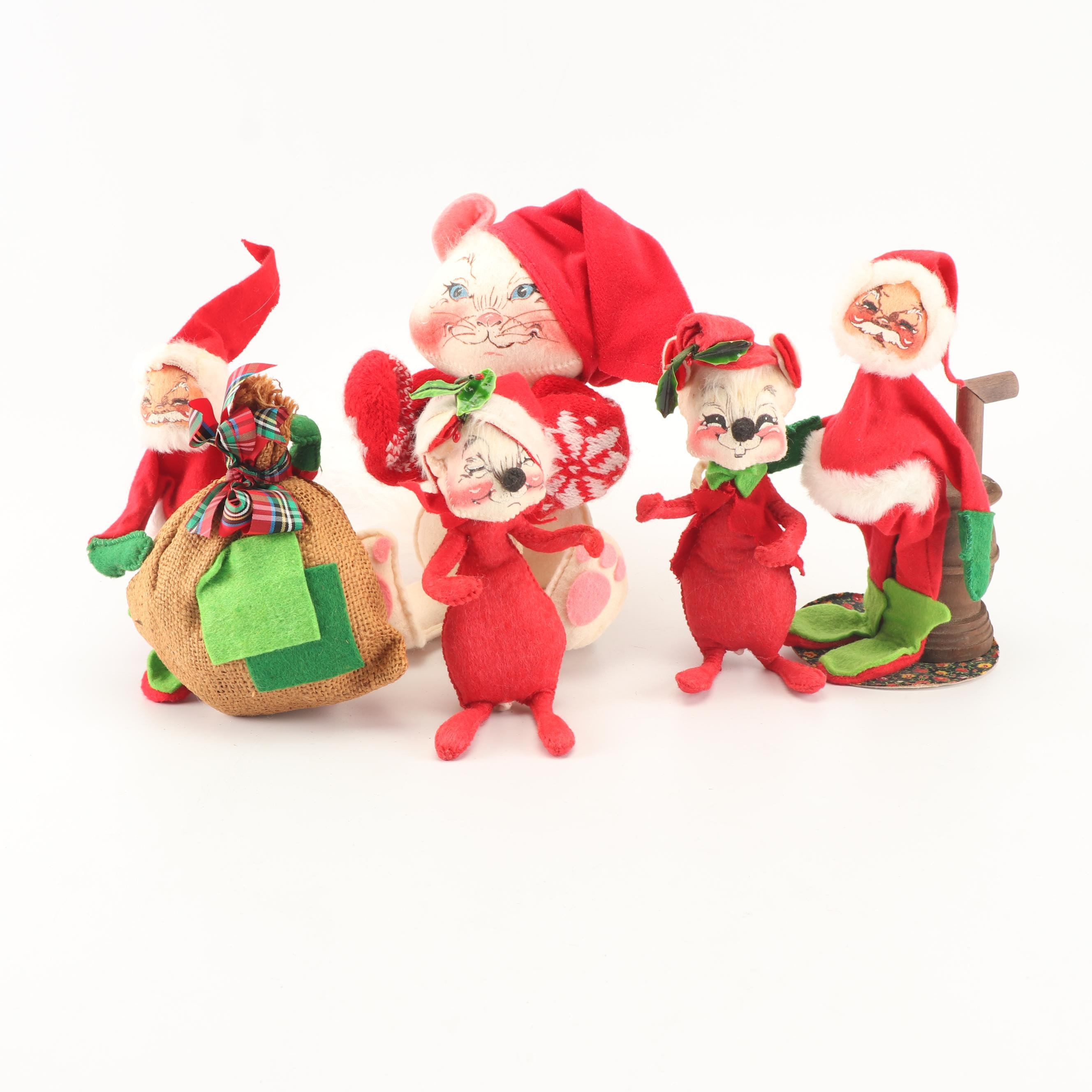 Annalee Christmas Characters