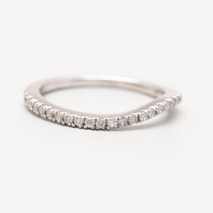 Kessler's 14K White Gold Diamond Ring
