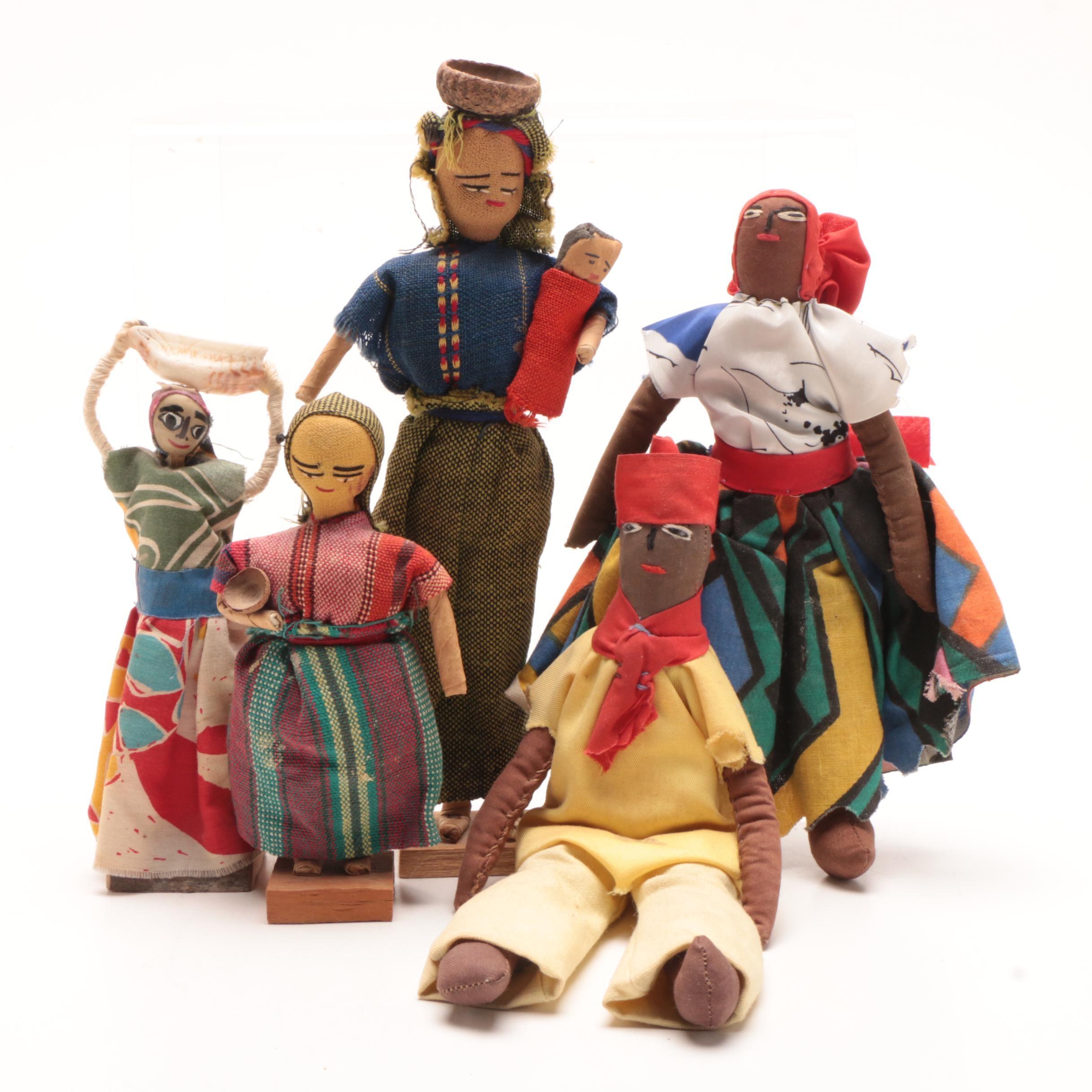 Cloth Handmade Souvenir Dolls
