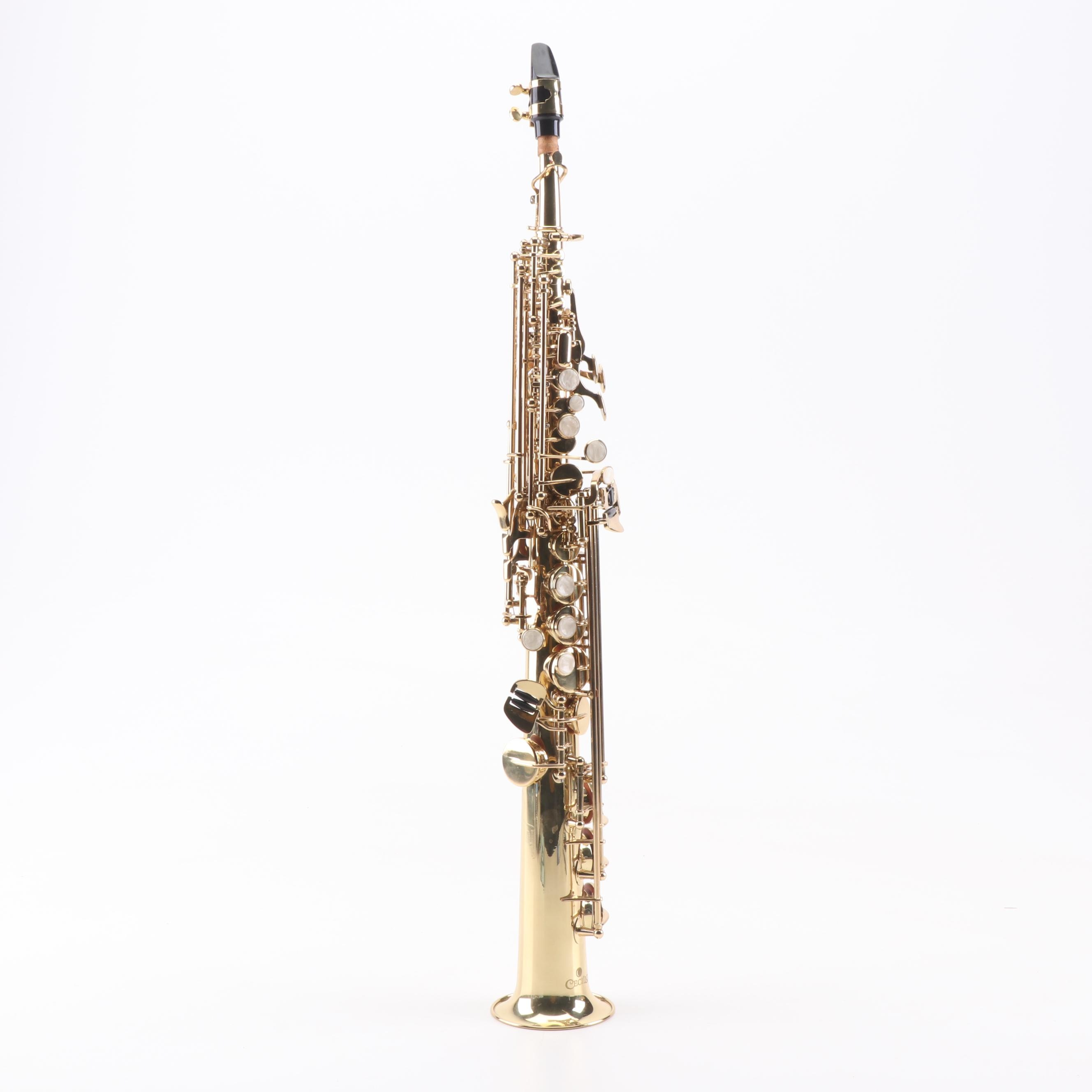 Cecilio SS-280 Gold Lacquer Soprano Saxophone