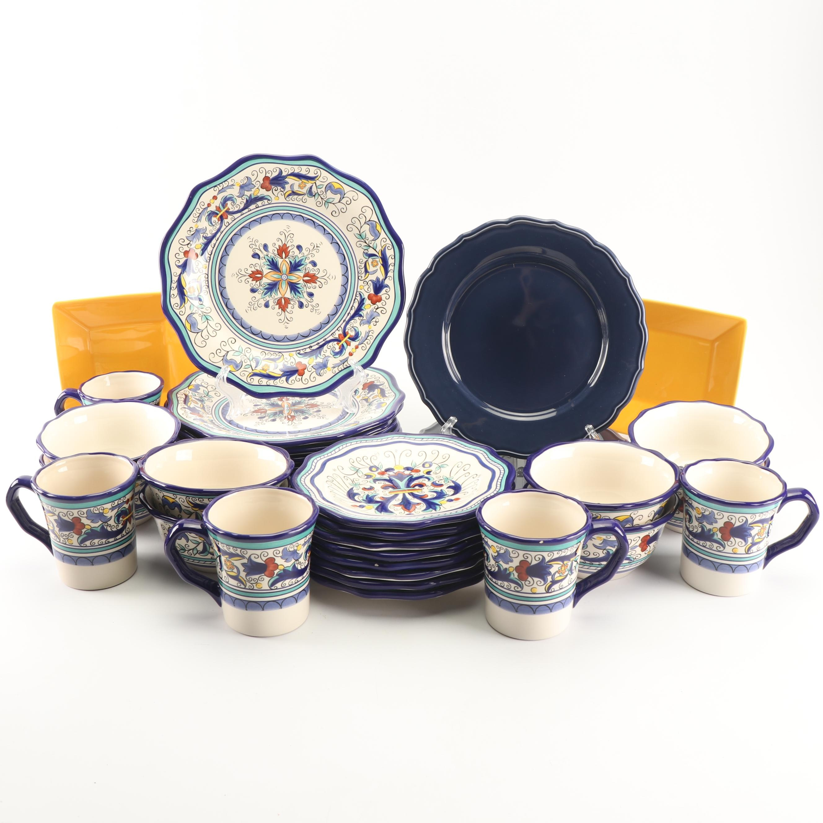 """Pier 1 Imports """"San Marino"""" and Other Dinnerware"""