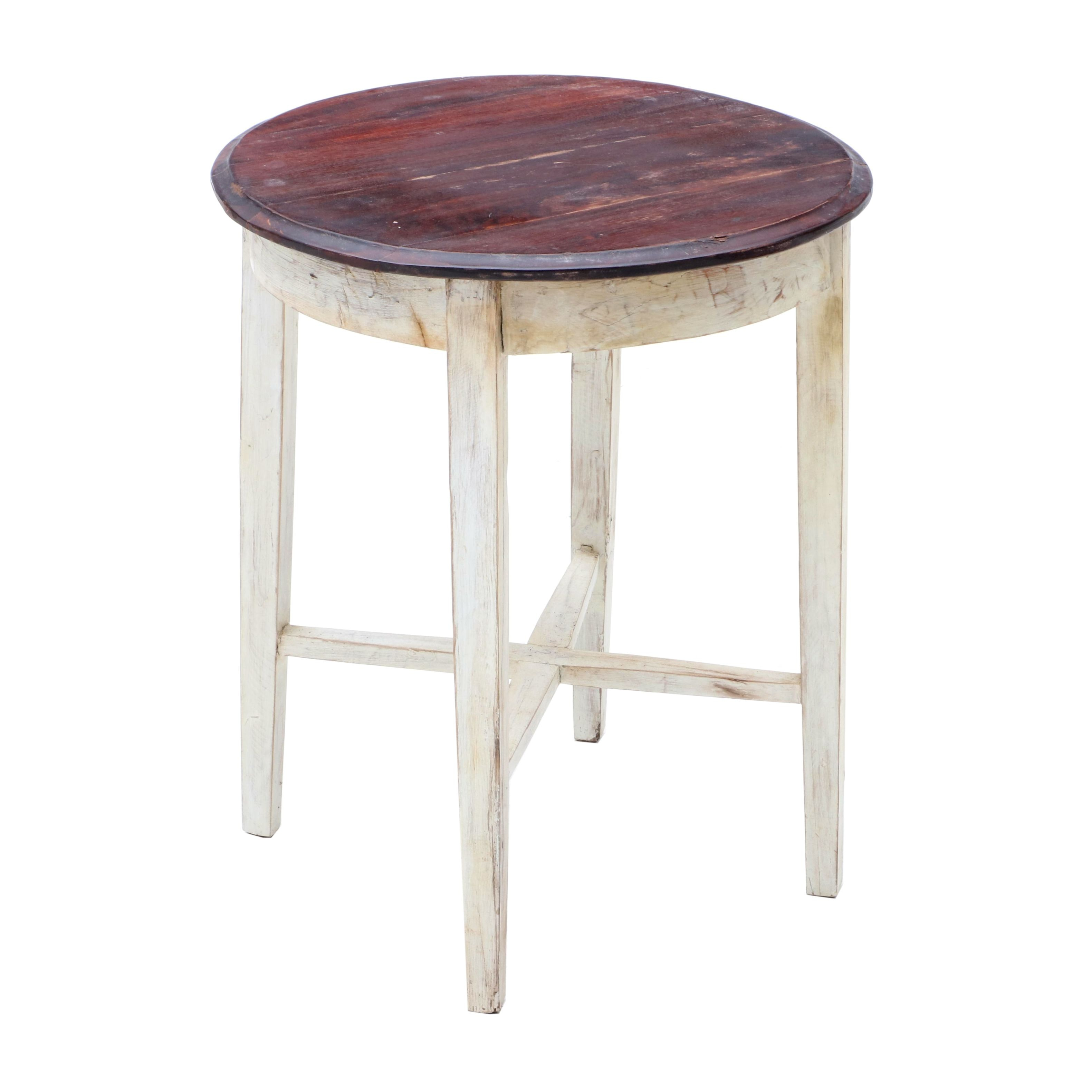 Rustic Style Accent Table
