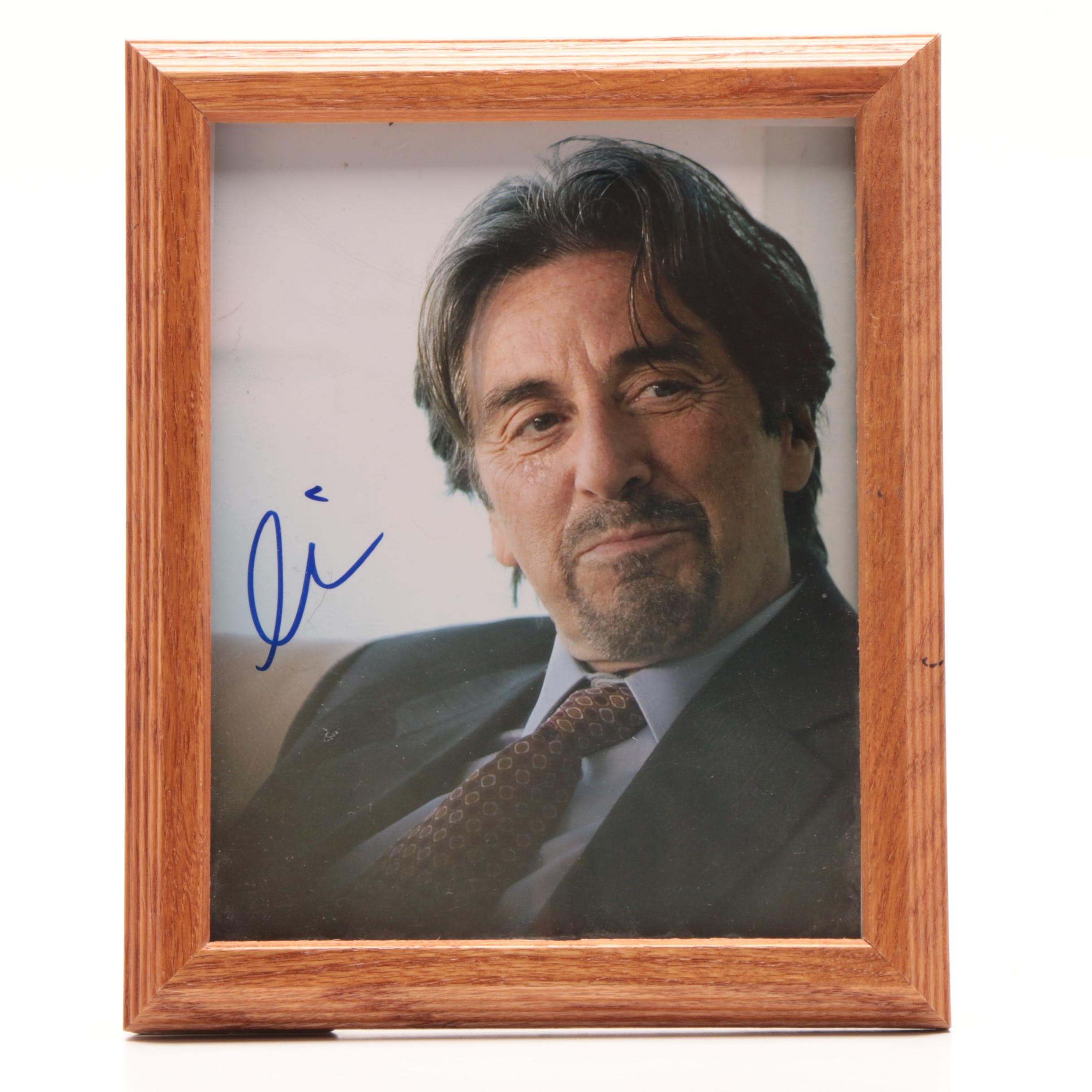 Academy Award Winner Al Pacino Autographed Framed Photo Print