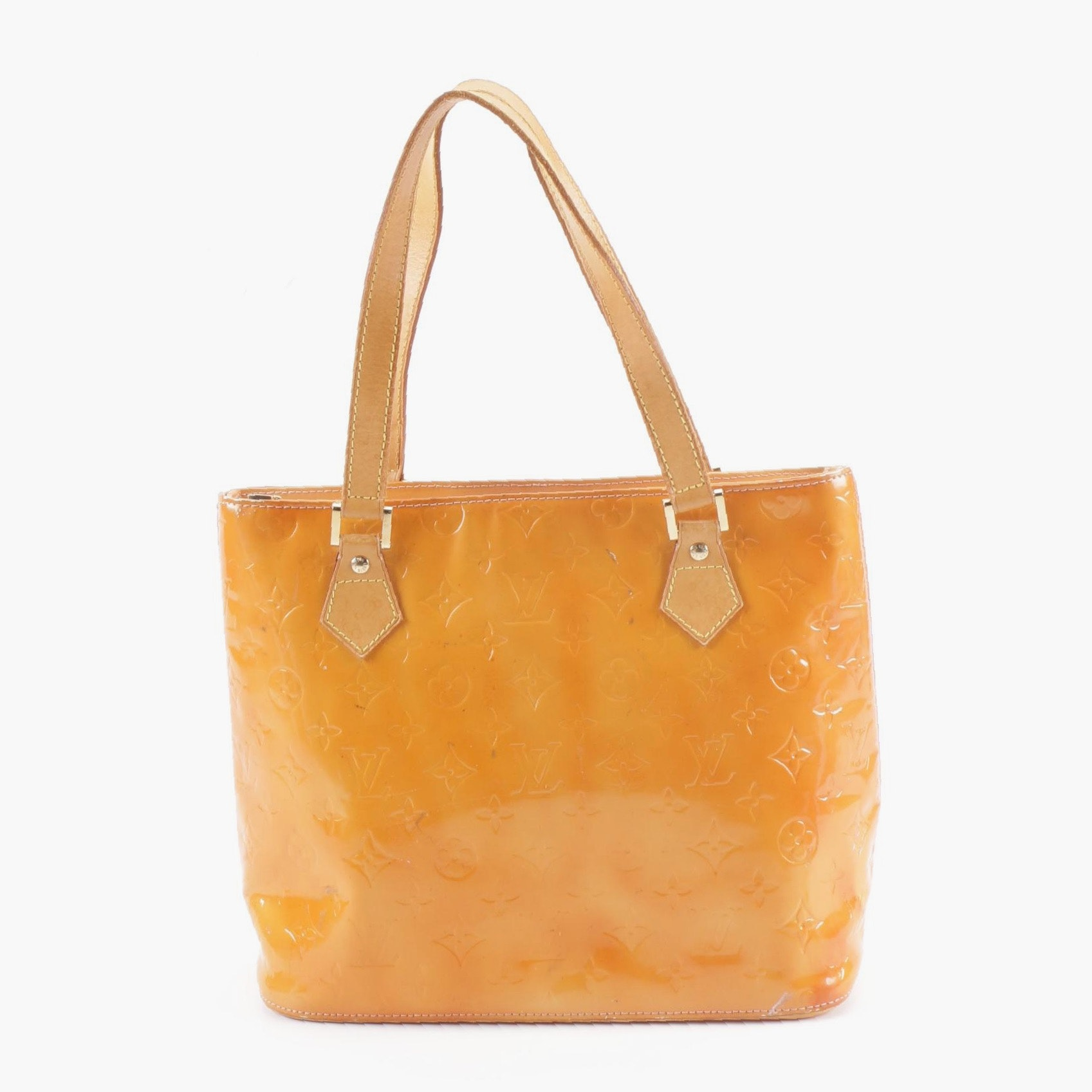 1999 Louis Vuitton Paris Mango Vernis Leather Houston Tote