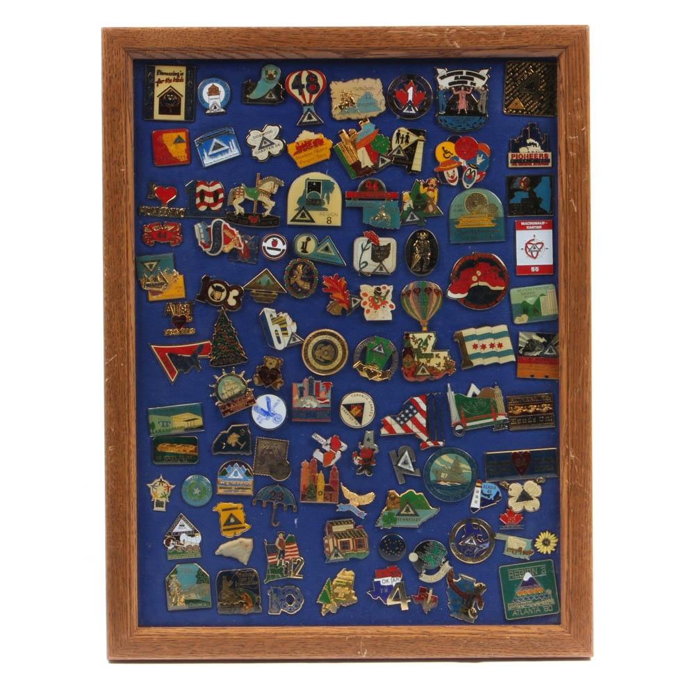 Telephone Pioneers Volunteer Organization Pin Collection