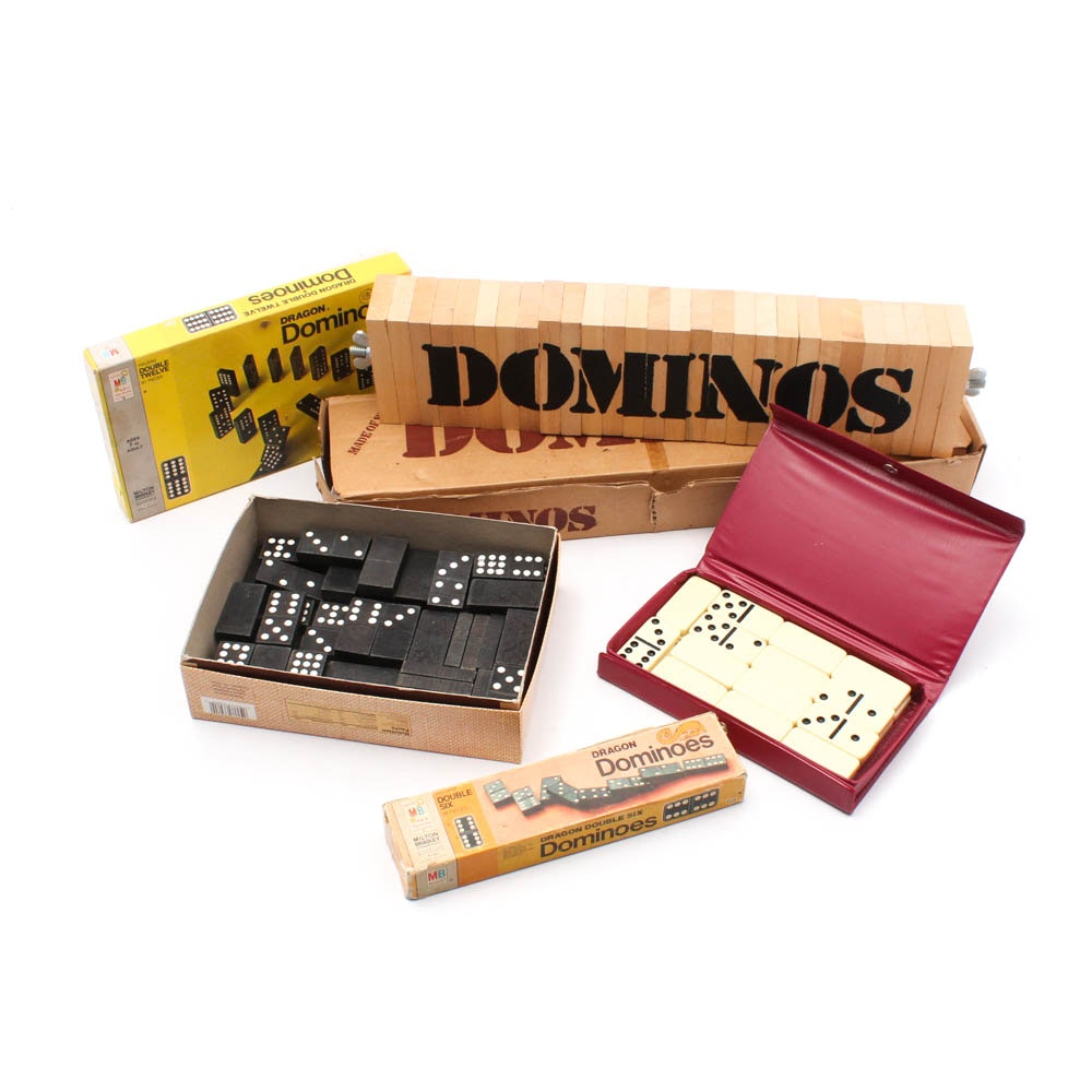 Domino Game Set Collections