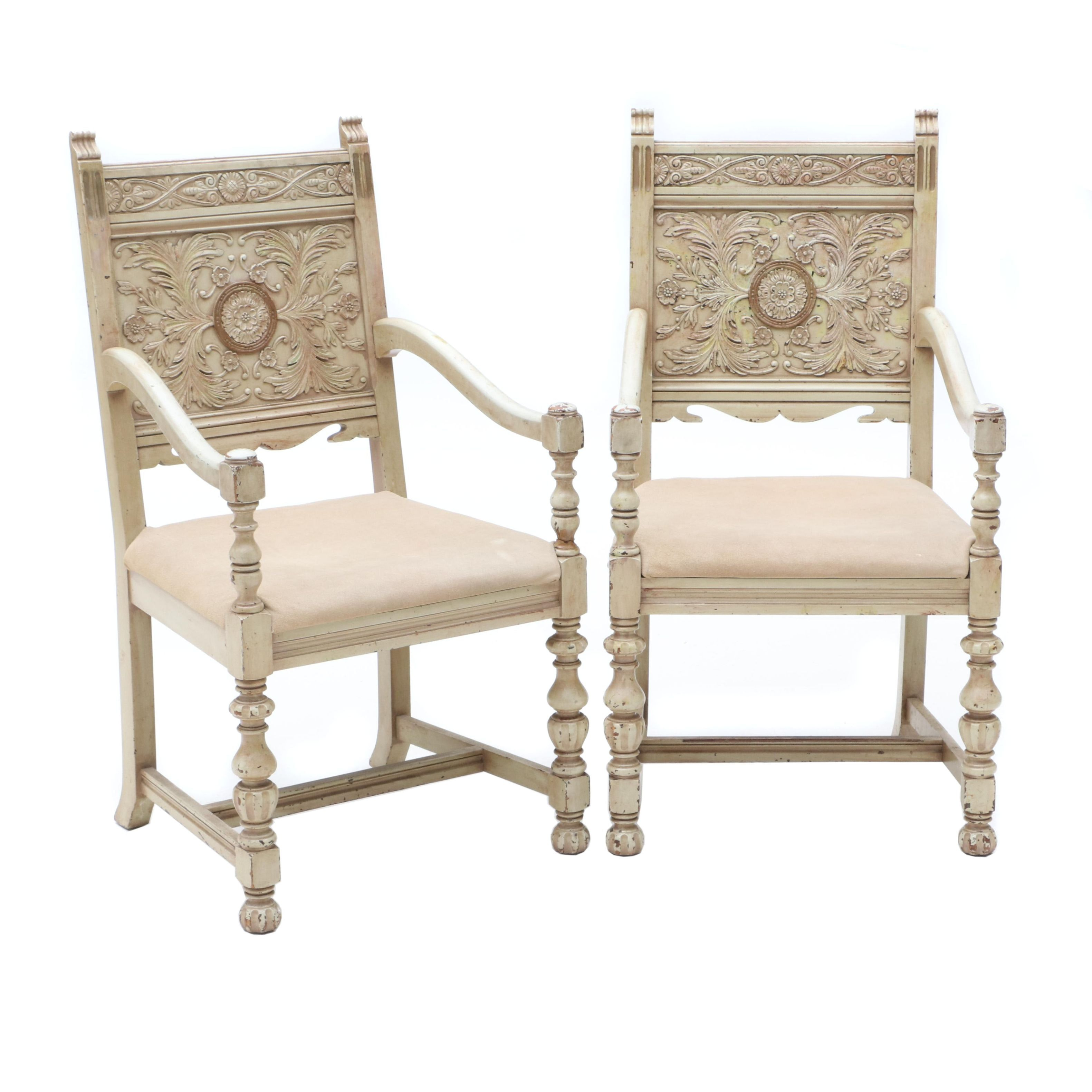Spanish Revival Chairs Circa 1930s