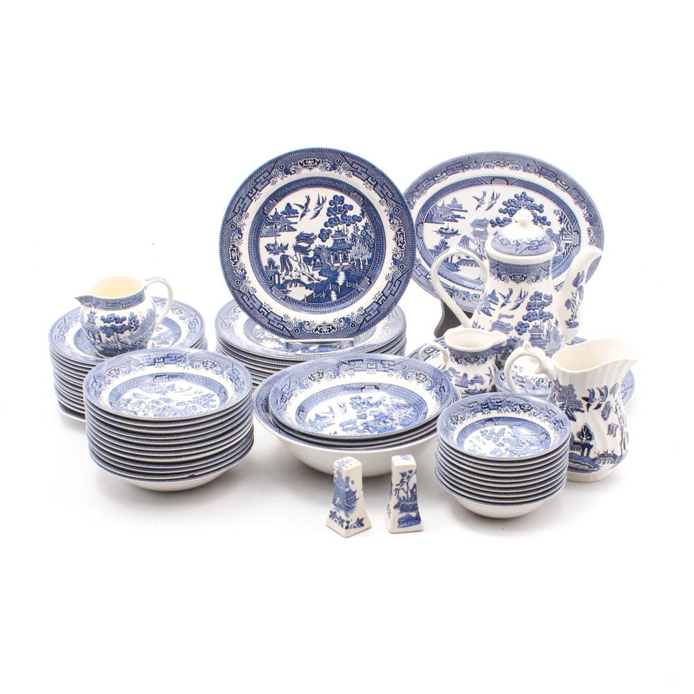 "Churchill ""Blue Willow"" Serveware and Dinnerware"