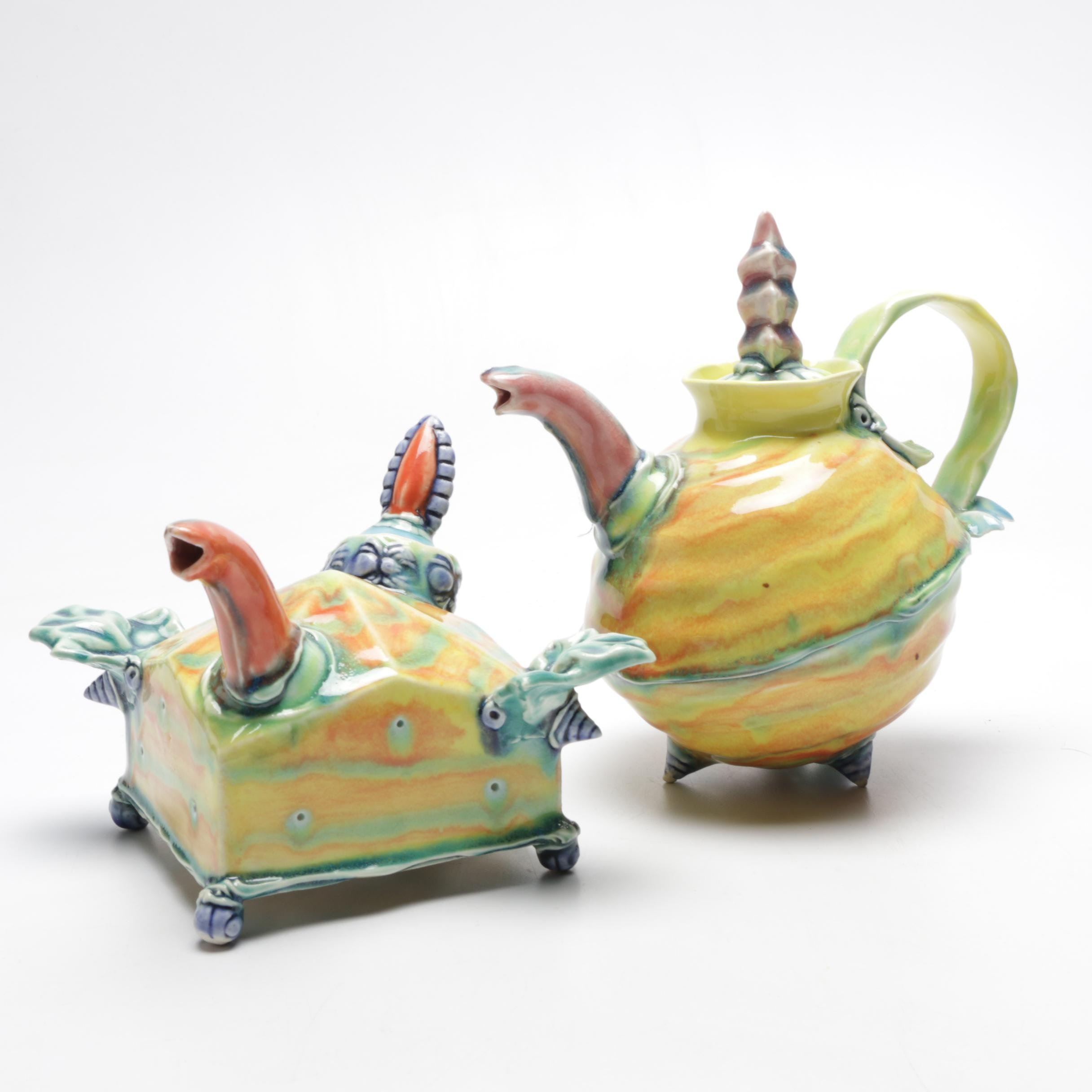 Art Pottery Teapots