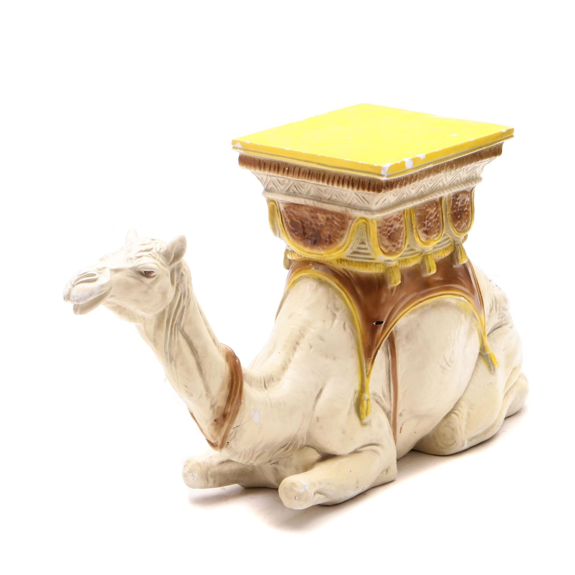 Camel Theme Occasional Table