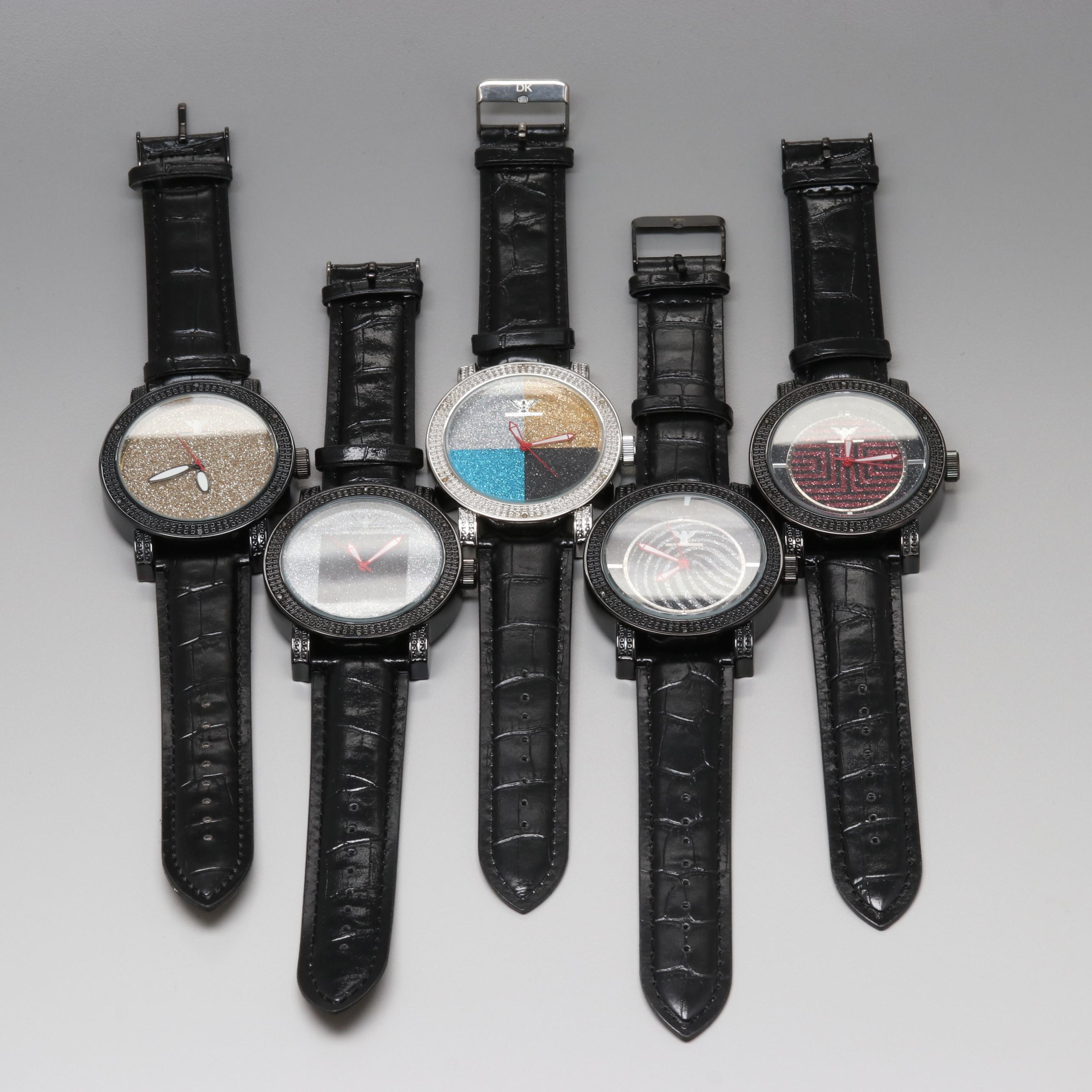 Assorted Diamond King Wristwatches