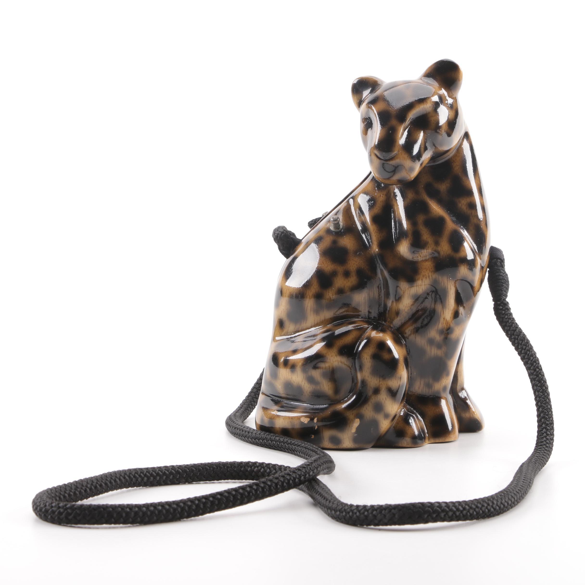 Timmy Woods of Beverly Hills Cheetah Handbag
