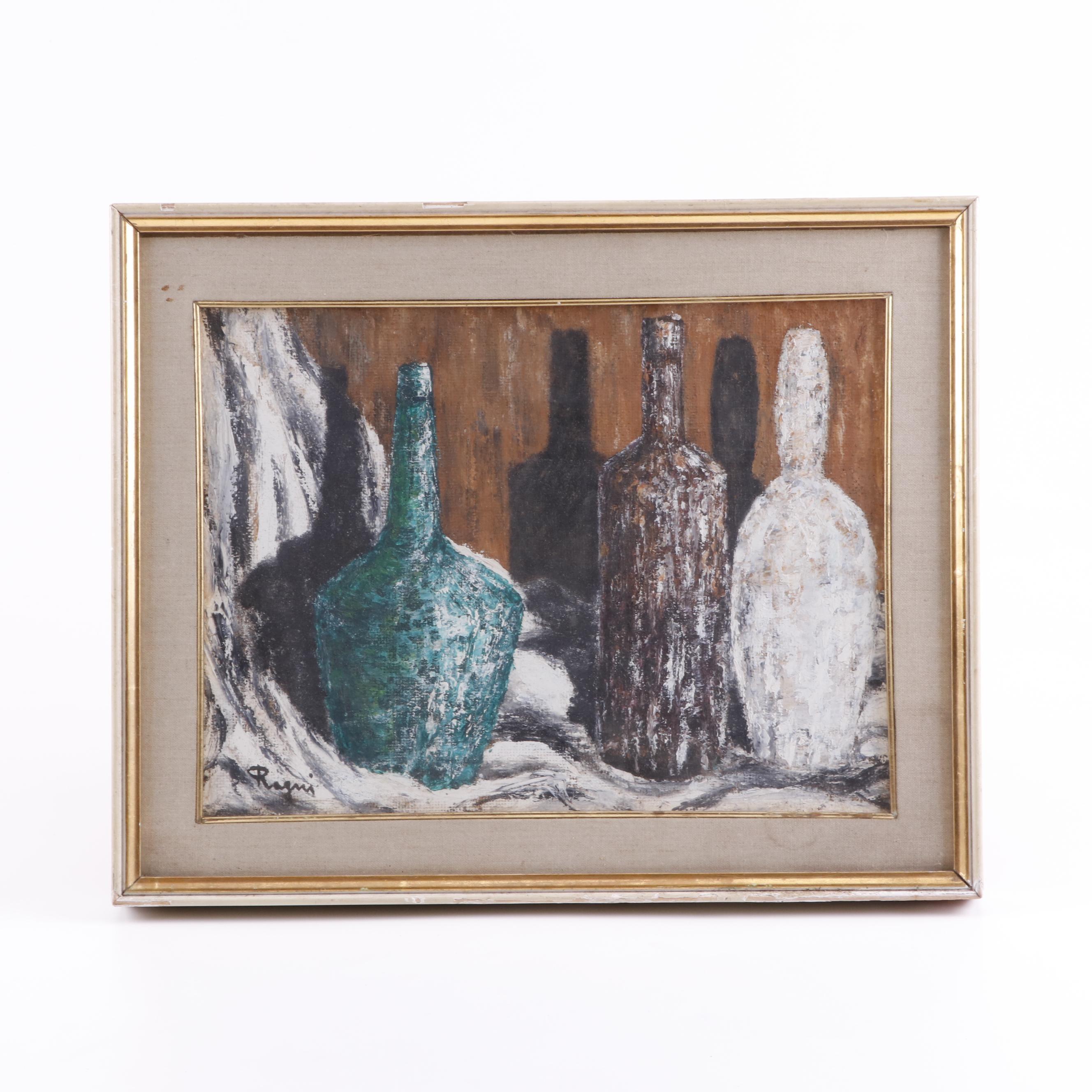 Basso Ragni Still Life Painting