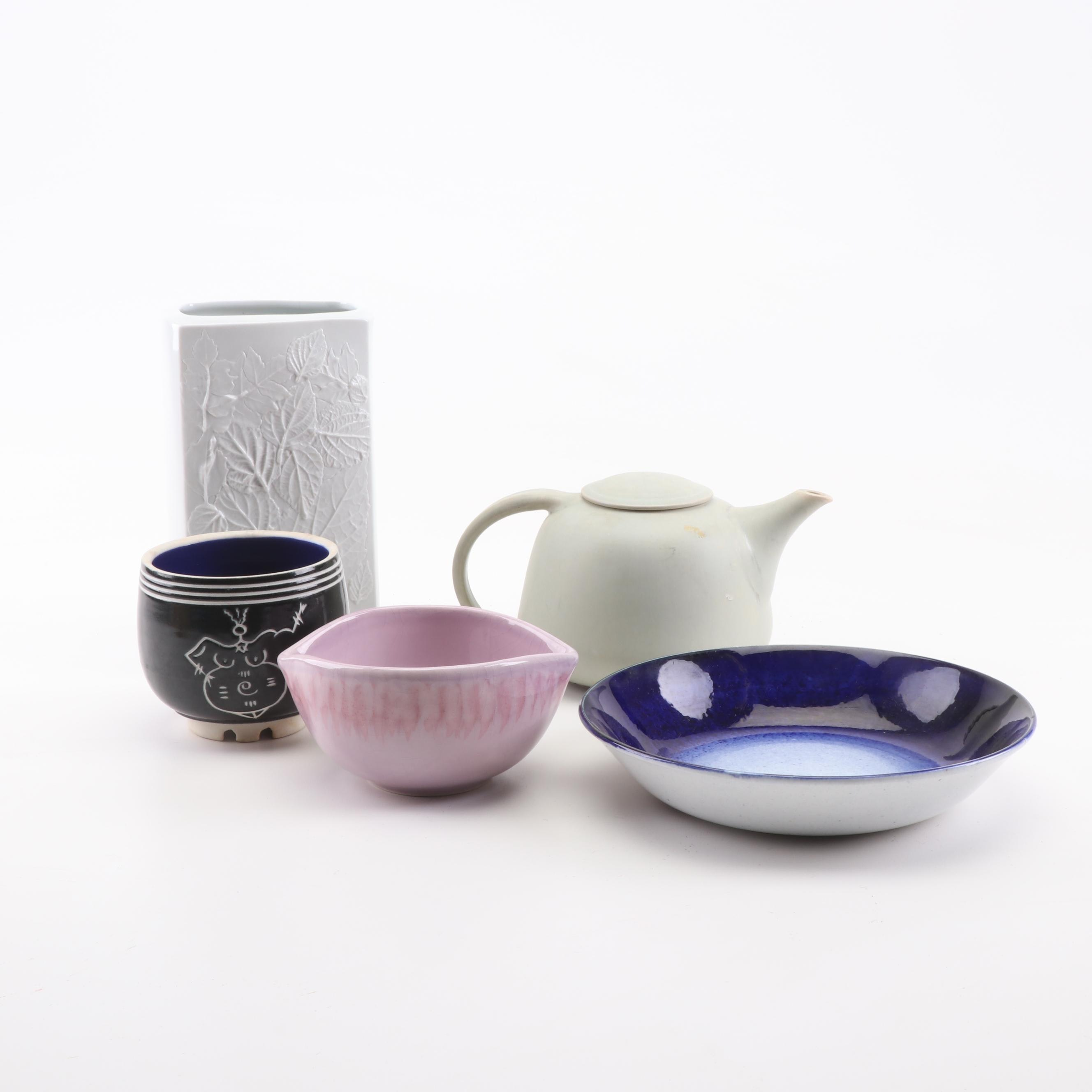 Eileen Goldenberg, Naaman, and Other Modern Style Tableware and Decor