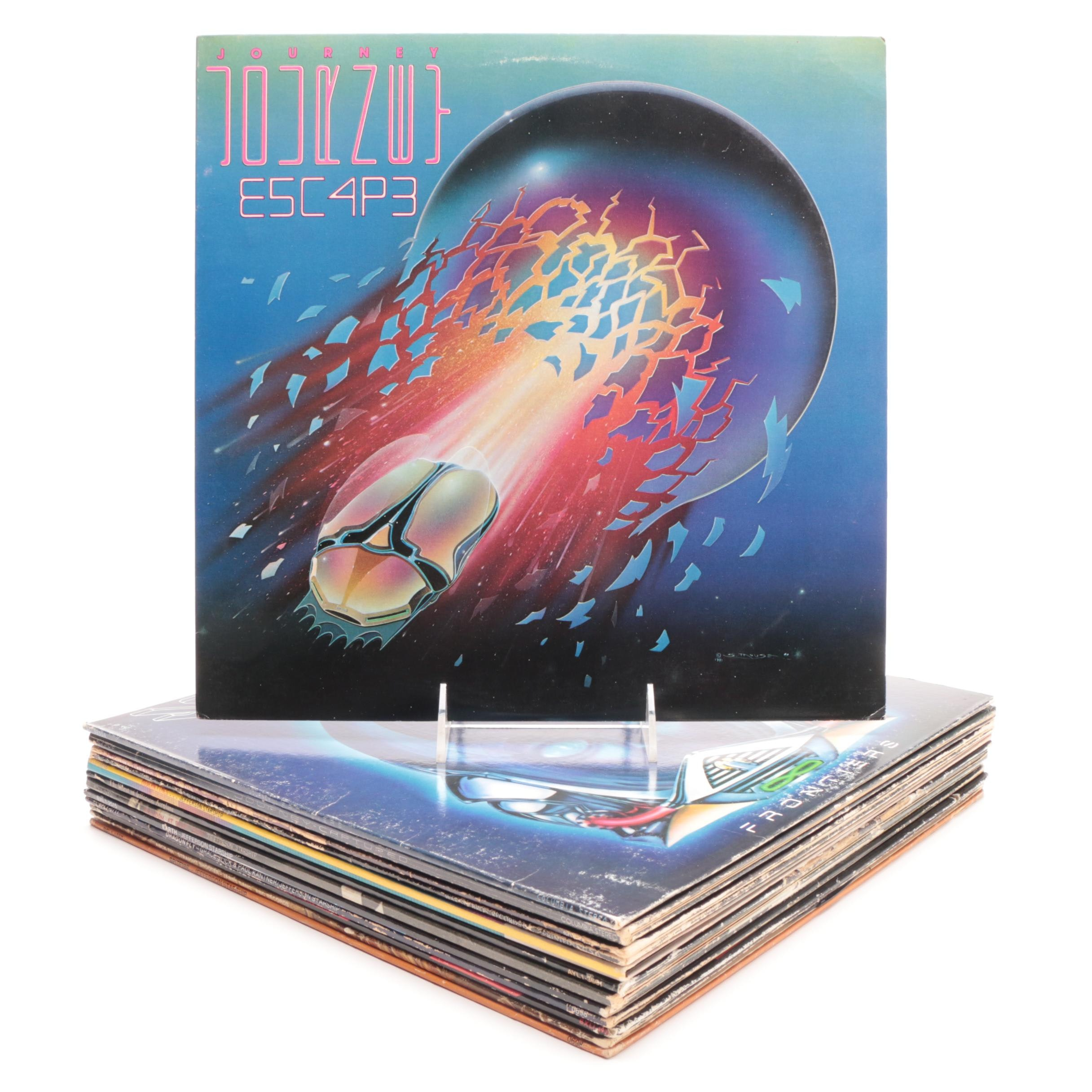 Classic Rock LP Records including Journey, Fleetwood Mac and Jefferson Starship