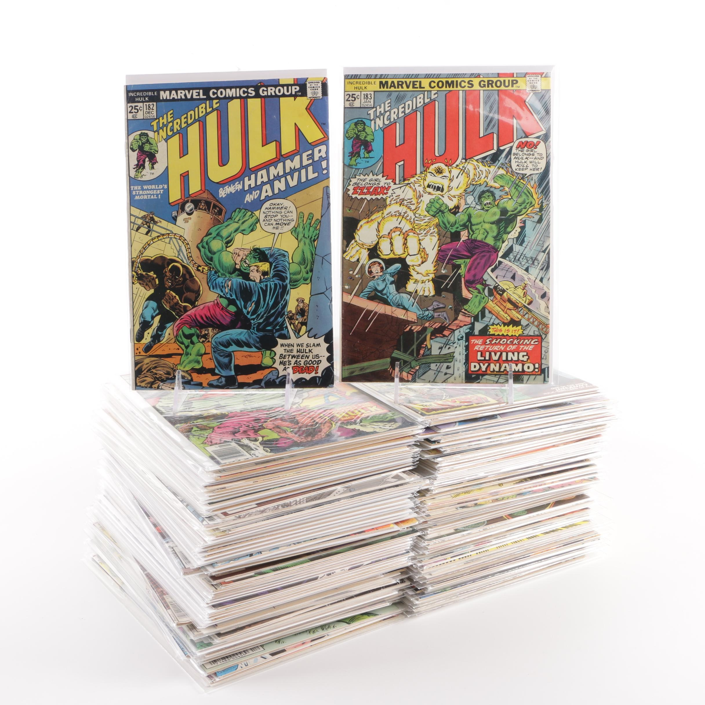 "1974-1984 ""The Incredible Hulk"" Issues #182-299, Featuring Issue #271"