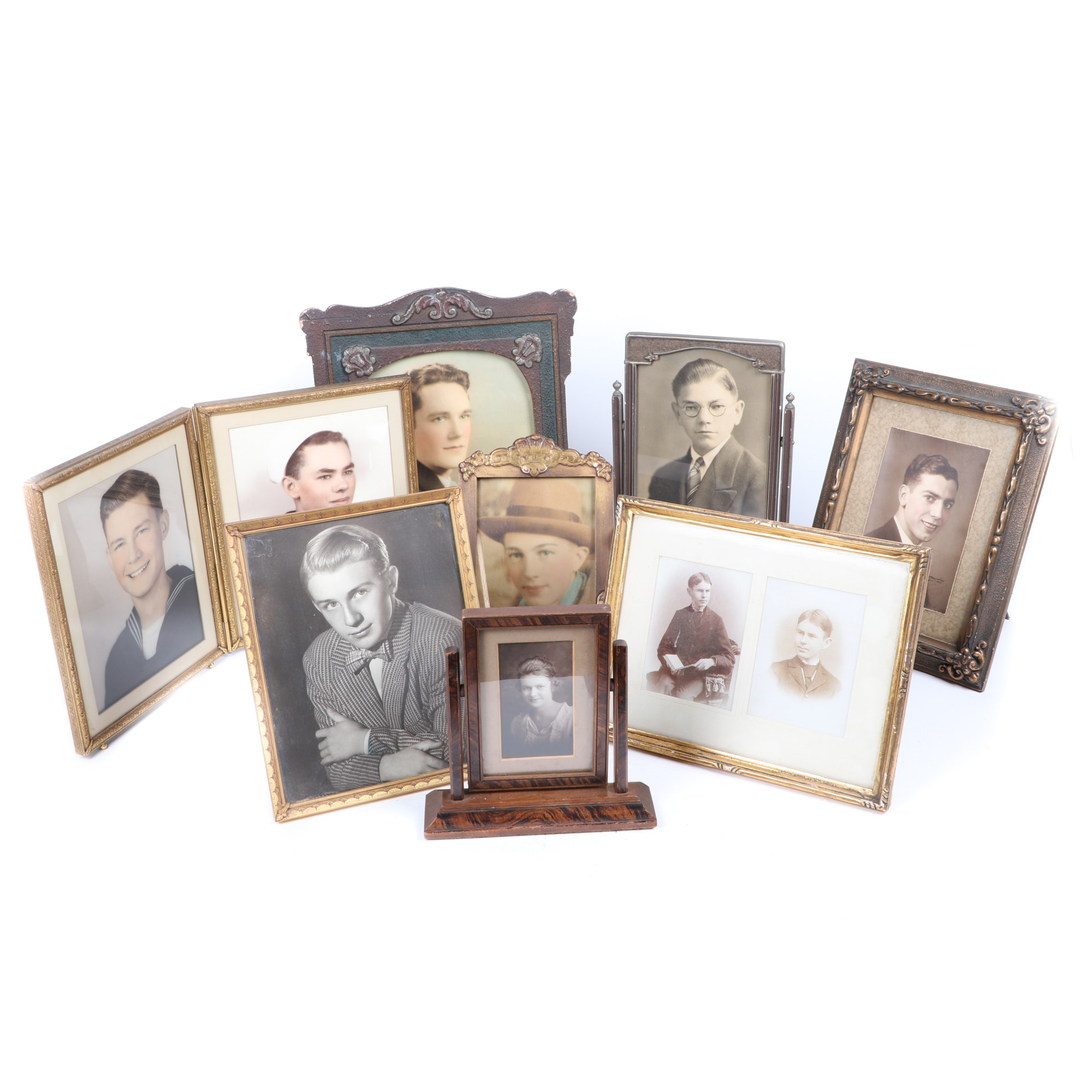 Early to Mid 20th Century Picture Frames including Photographs