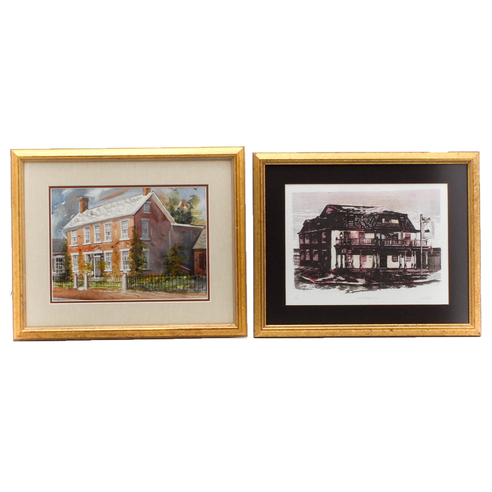 Central Ohio Vintage Architectural Images