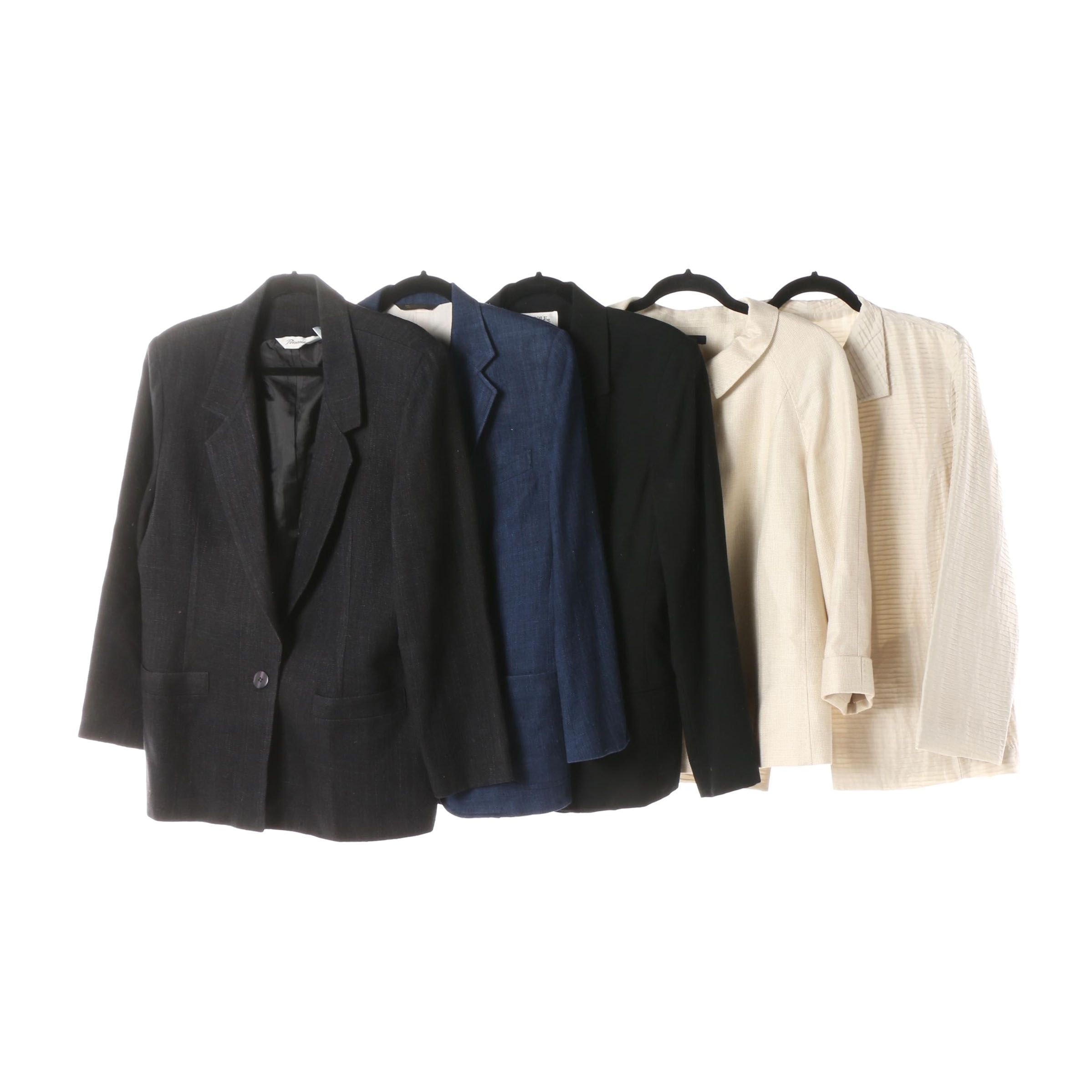 Women's Eileen Fisher, Brooks Brothers, Mark Shale and Nicole Summers Jackets