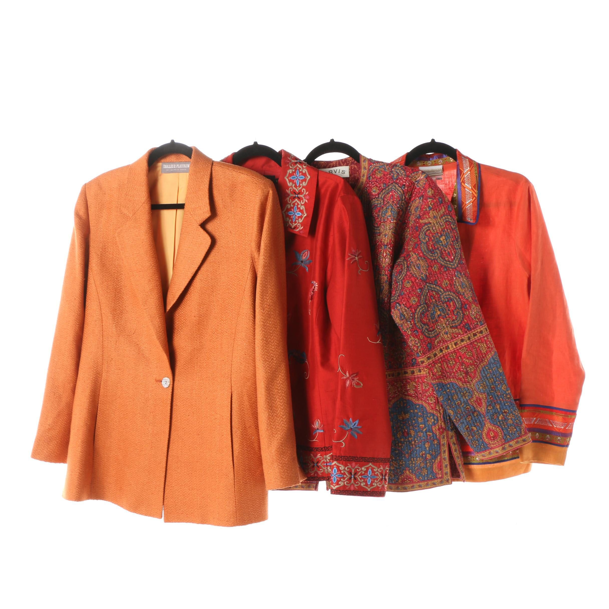 Women's Jackets including Orvis, Coldwater Creek and Icelandic Design