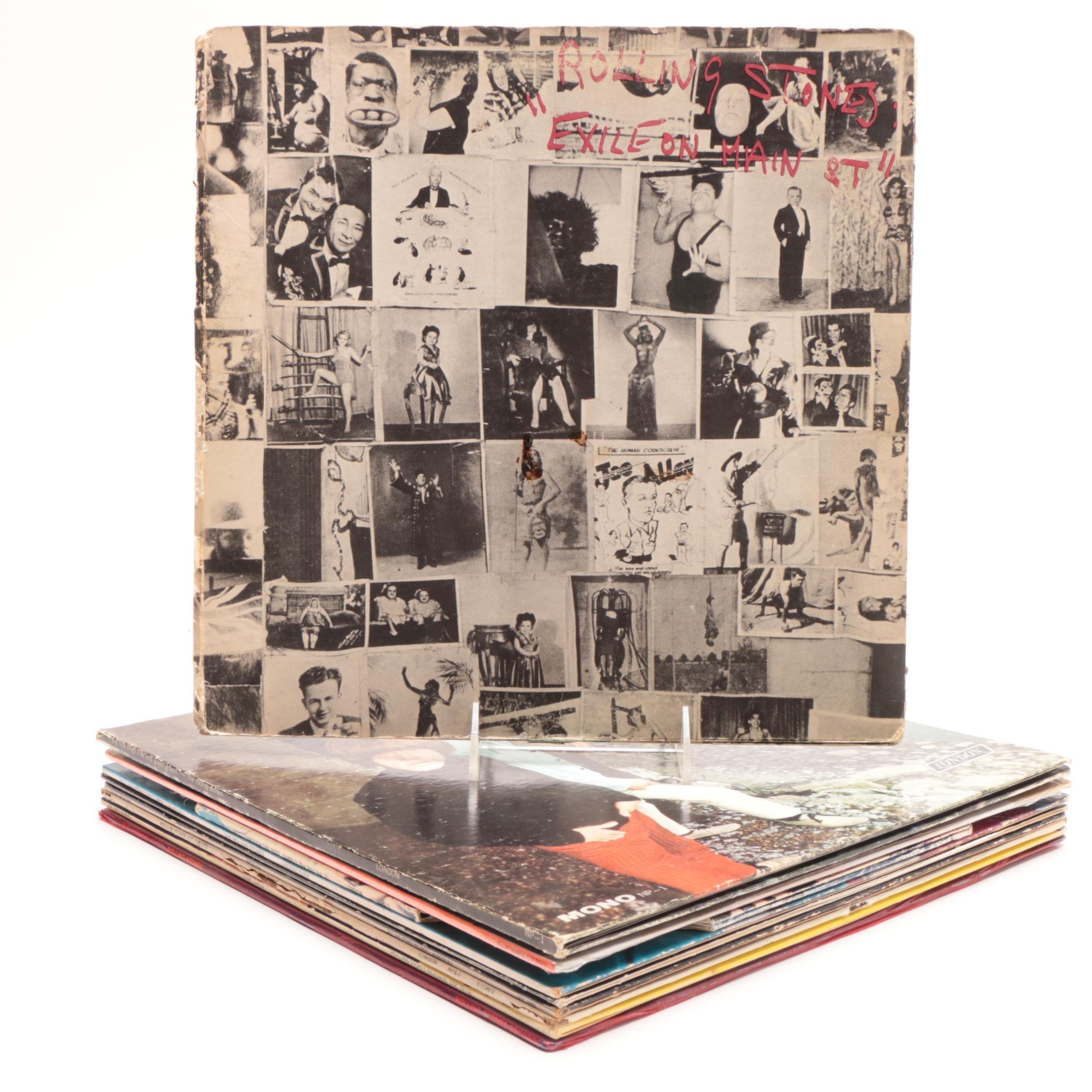 Rolling Stones Vinyl Records