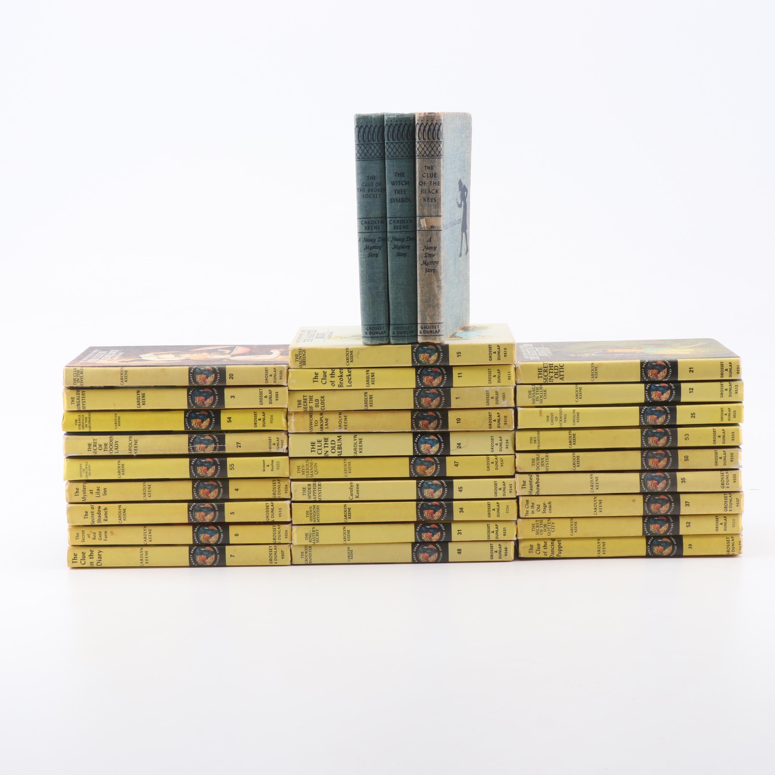 """1950s-1960s """"Nancy Drew"""" Books"""