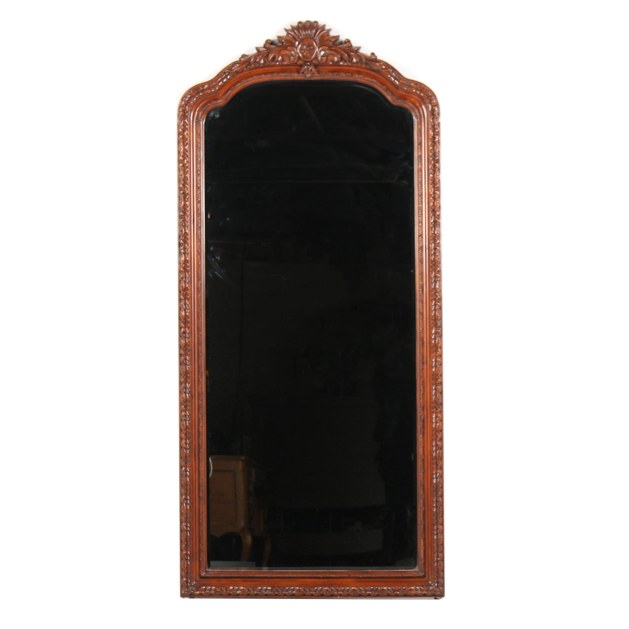 Full Length Pine Wall Mirror