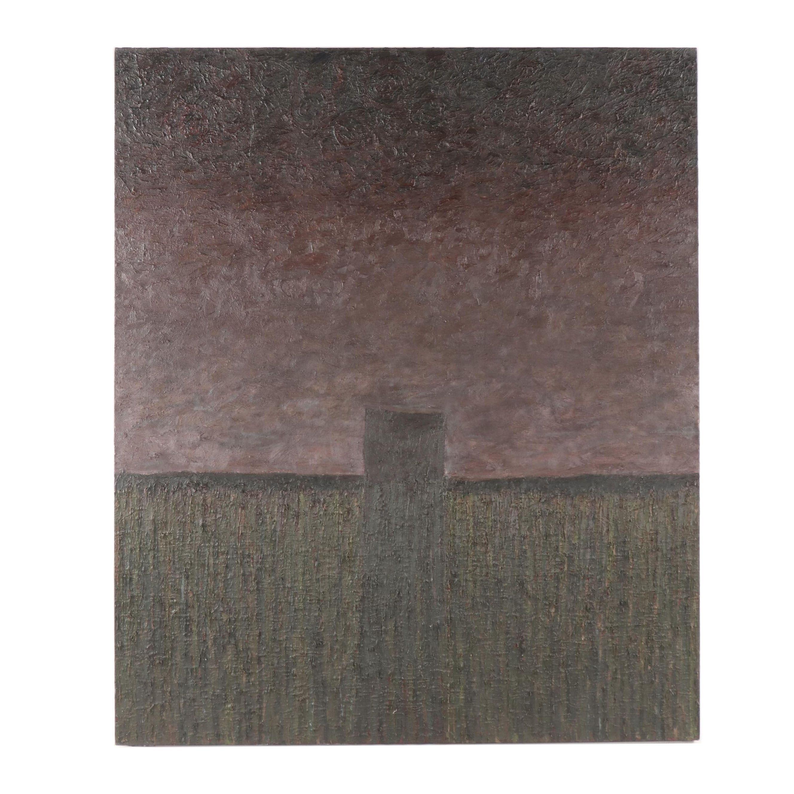 "John Cleaveland Oil Painting ""Fortile Grond"""
