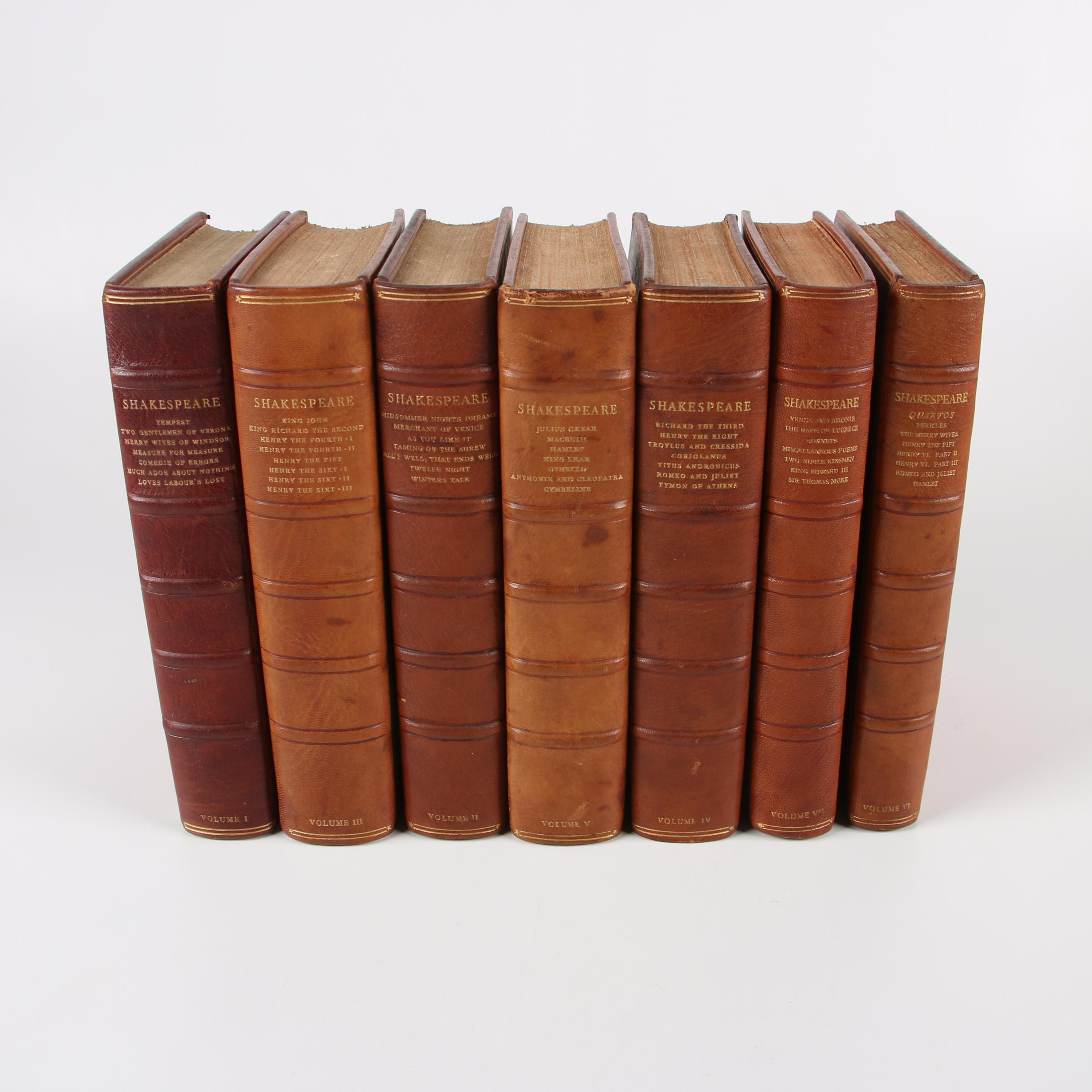 """Numbered Nonesuch Edition """"The Works of Shakespeare"""", 1929-1933"""
