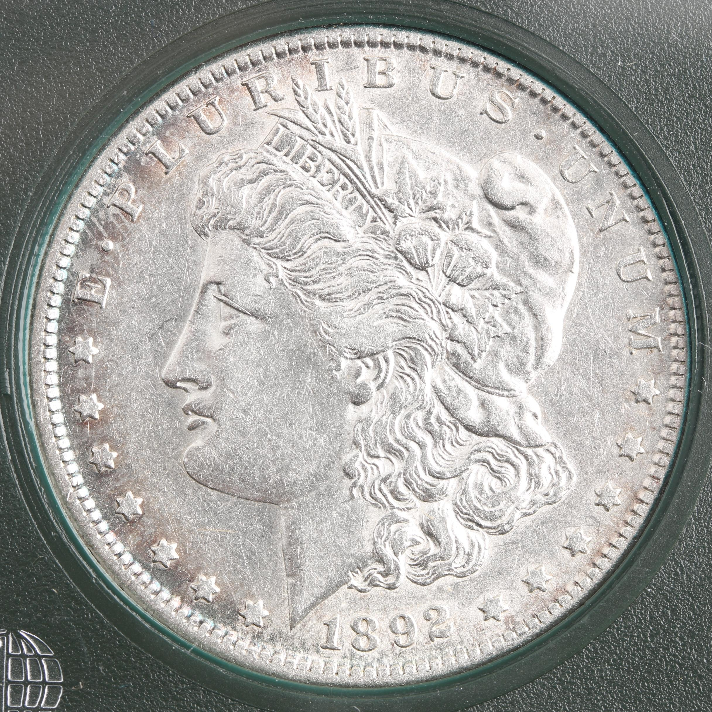 Low Mintage 1892-S Silver Morgan Dollar