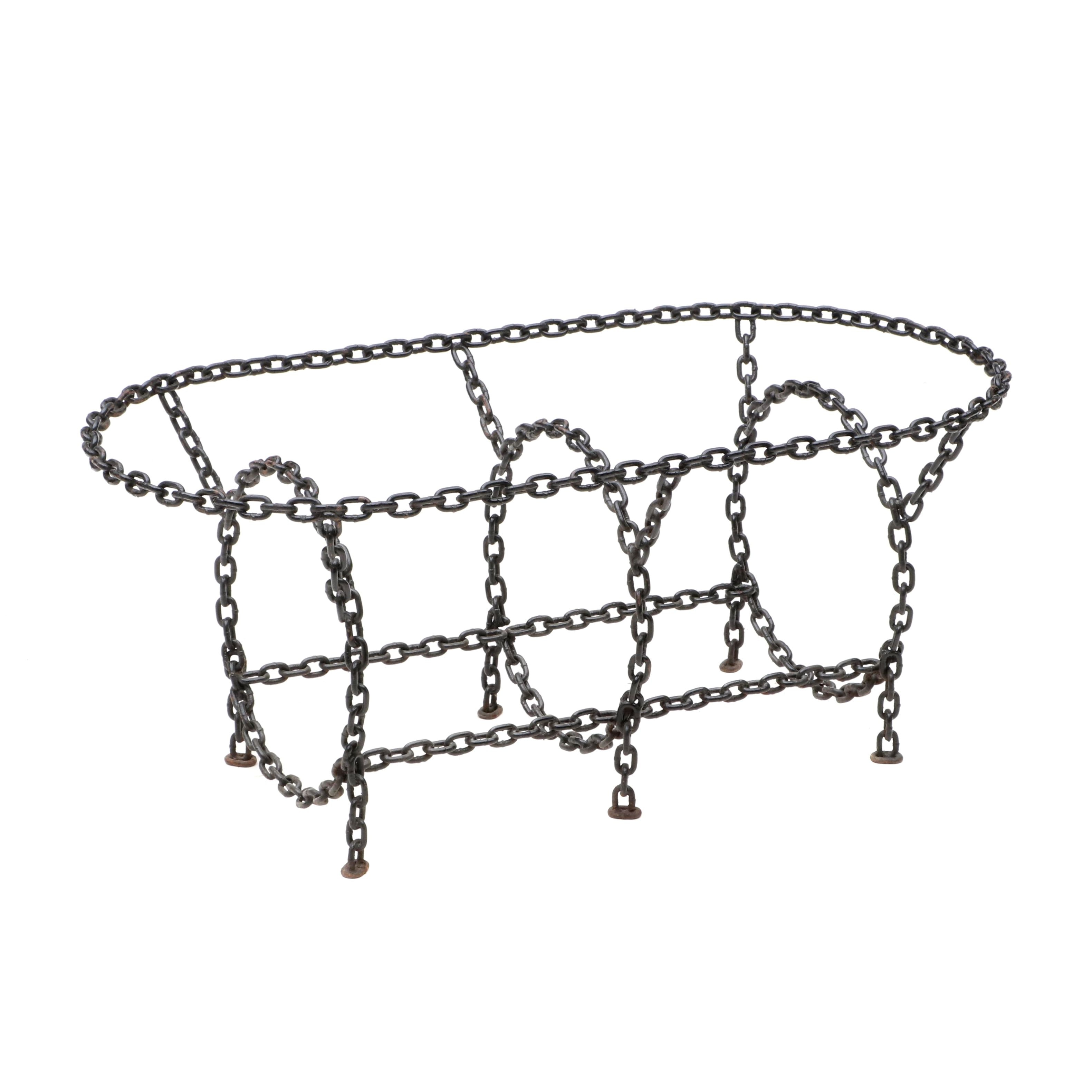 Chain Linked Motif Coffee Table