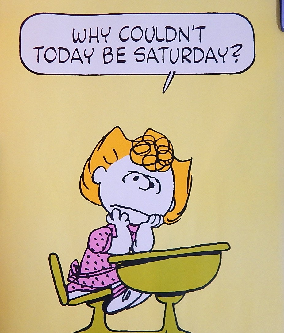 """Peanuts"" Sally Poster, 1960s"